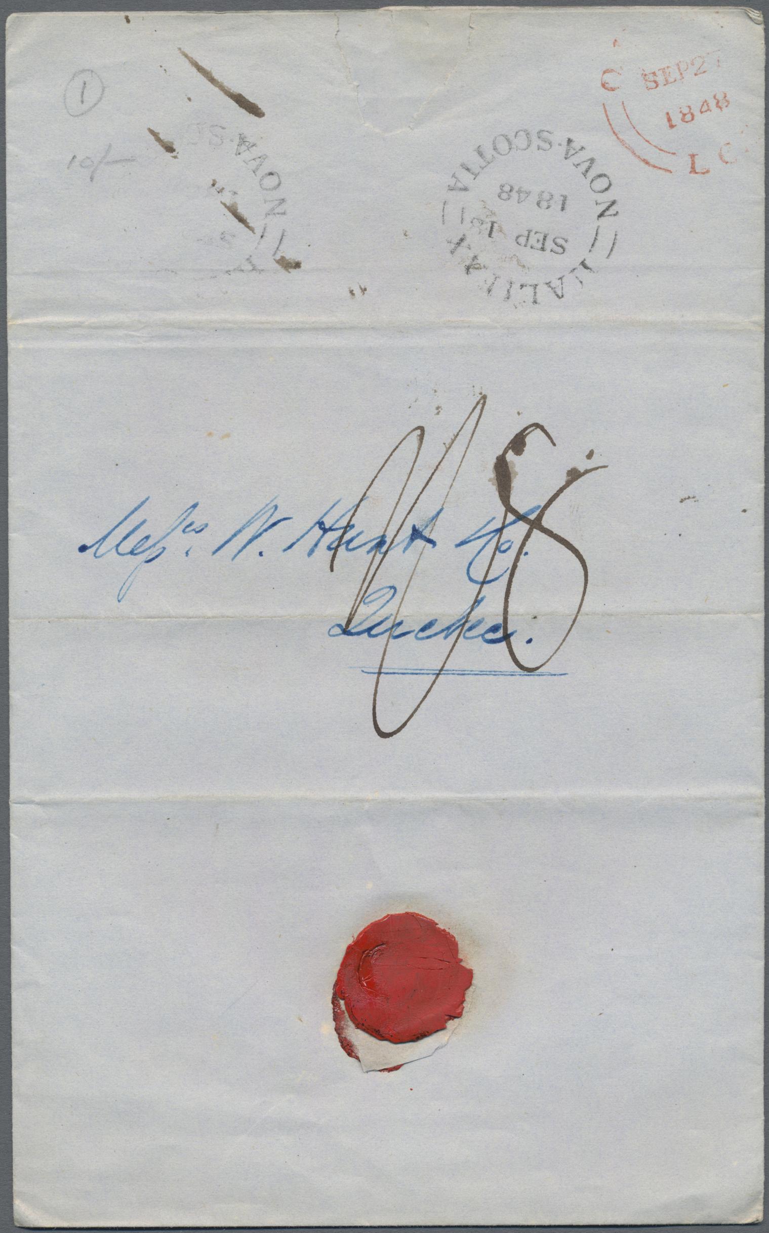 Lot 15089 - britische kolonien  -  Auktionshaus Christoph Gärtner GmbH & Co. KG Sale #48 collections Overseas  Airmail / Ship mail & Thematics