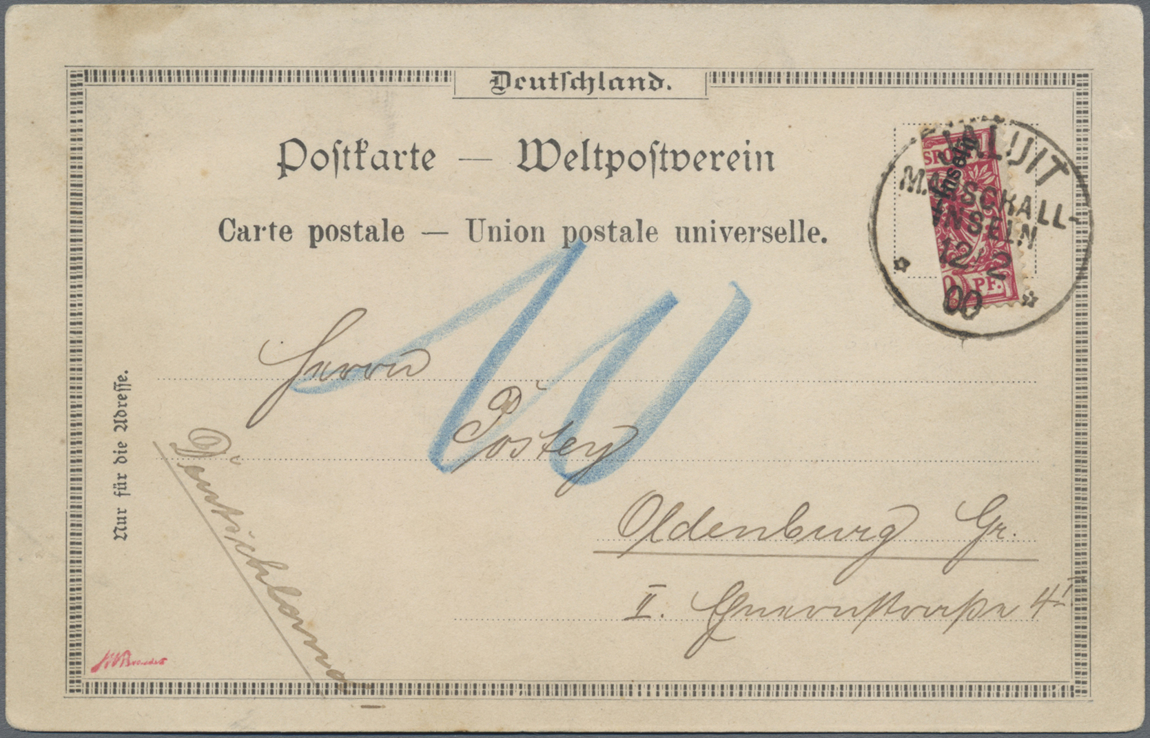 Lot 22830 - Deutsche Kolonien - Marshall-Inseln  -  Auktionshaus Christoph Gärtner GmbH & Co. KG Sale #44 Germany, Picture Post cards