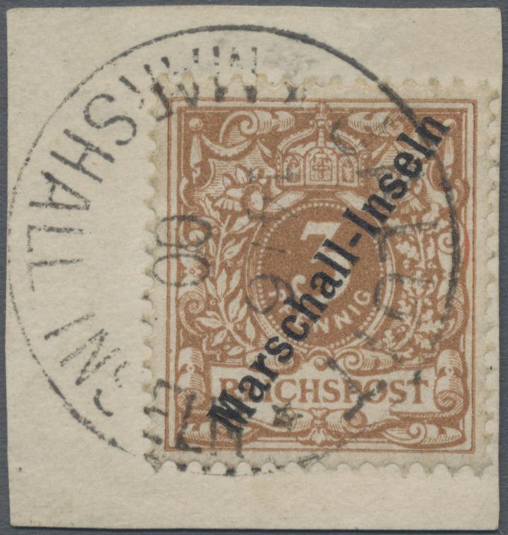 Lot 22824 - Deutsche Kolonien - Marshall-Inseln  -  Auktionshaus Christoph Gärtner GmbH & Co. KG Sale #44 Germany, Picture Post cards