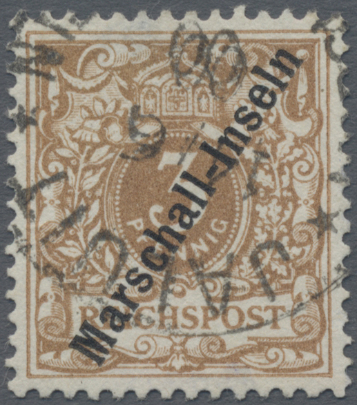 Lot 11482 - Deutsche Kolonien - Marshall-Inseln  -  Auktionshaus Christoph Gärtner GmbH & Co. KG Sale #48 The Single Lots Philatelie