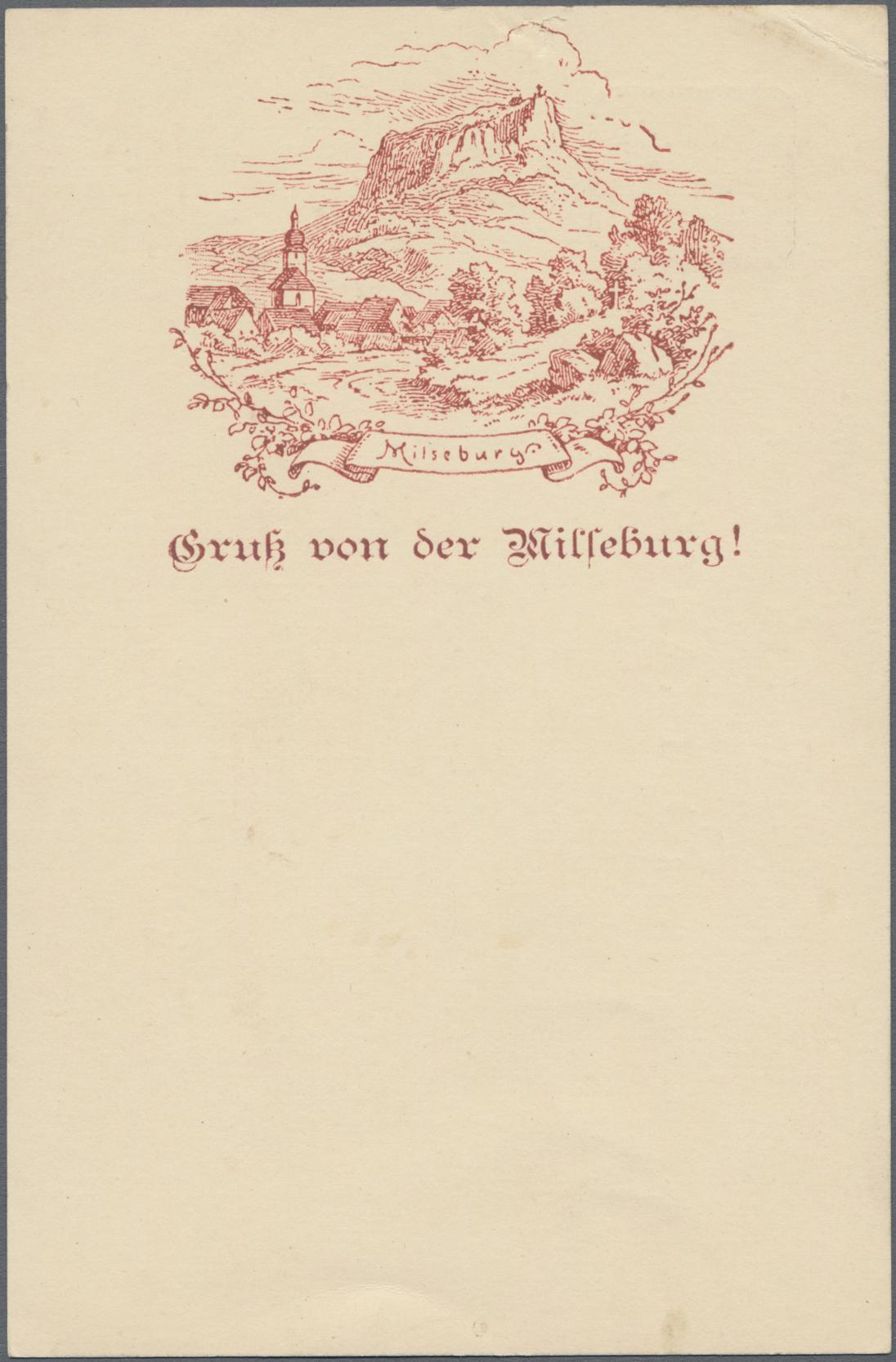Lot 02601 - Ansichtskarten: Vorläufer  -  Auktionshaus Christoph Gärtner GmbH & Co. KG Special auction