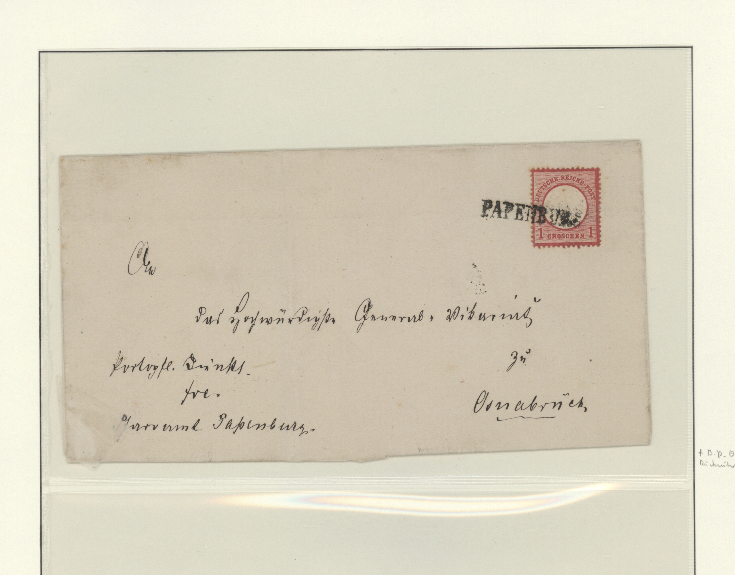 Lot 36254 - Hannover - Nachverwendete Stempel  -  Auktionshaus Christoph Gärtner GmbH & Co. KG Sale #44 Collections Germany