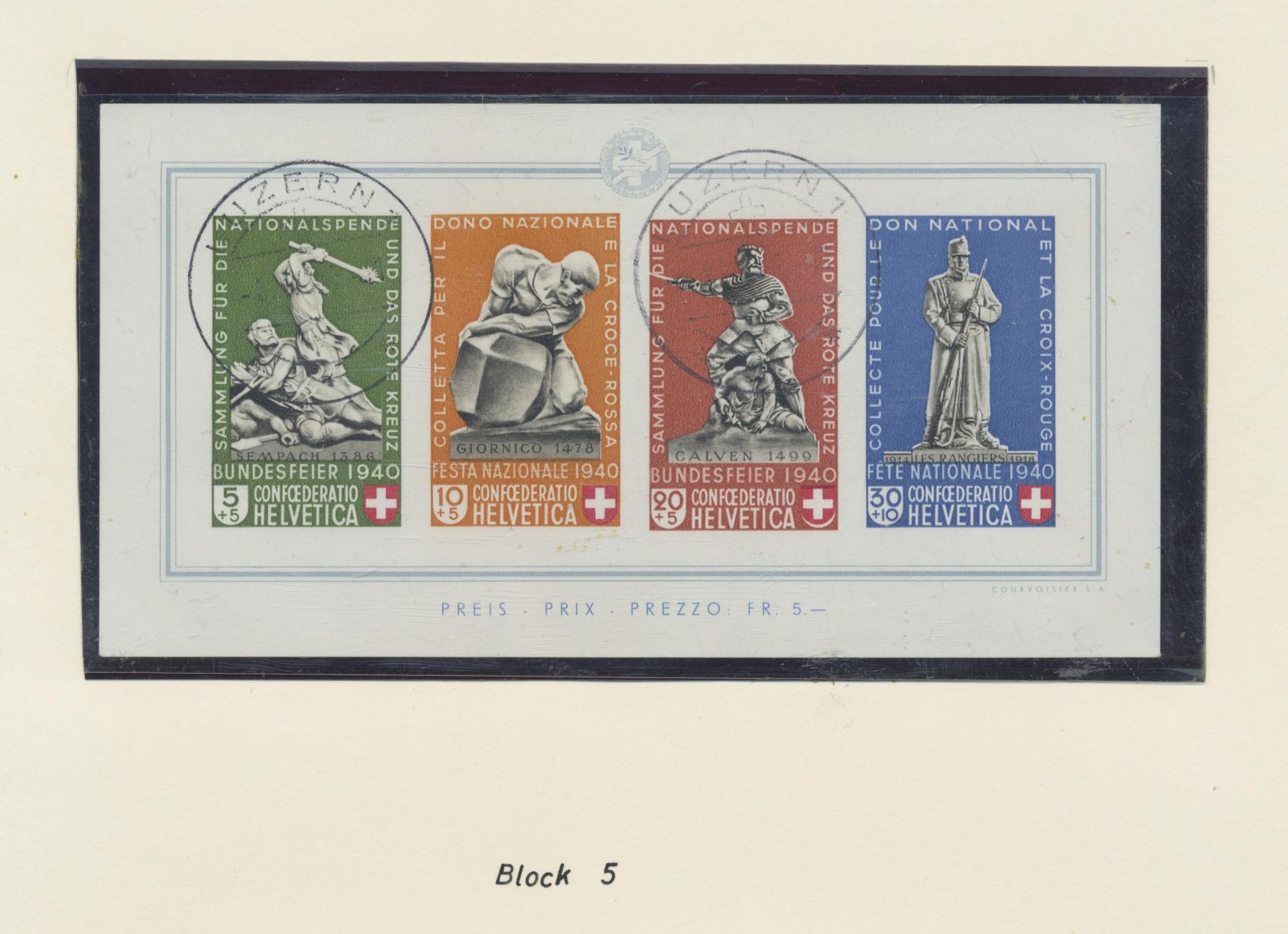 Lot 23127 - schweiz  -  Auktionshaus Christoph Gärtner GmbH & Co. KG Sale #47 Collections: Overseas, Thematics, Europe