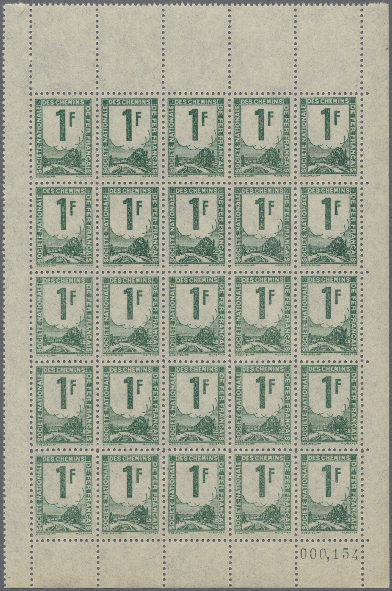 Lot 18346 - Frankreich - Postpaketmarken  -  Auktionshaus Christoph Gärtner GmbH & Co. KG 50th Auction Anniversary Auction - Day 5