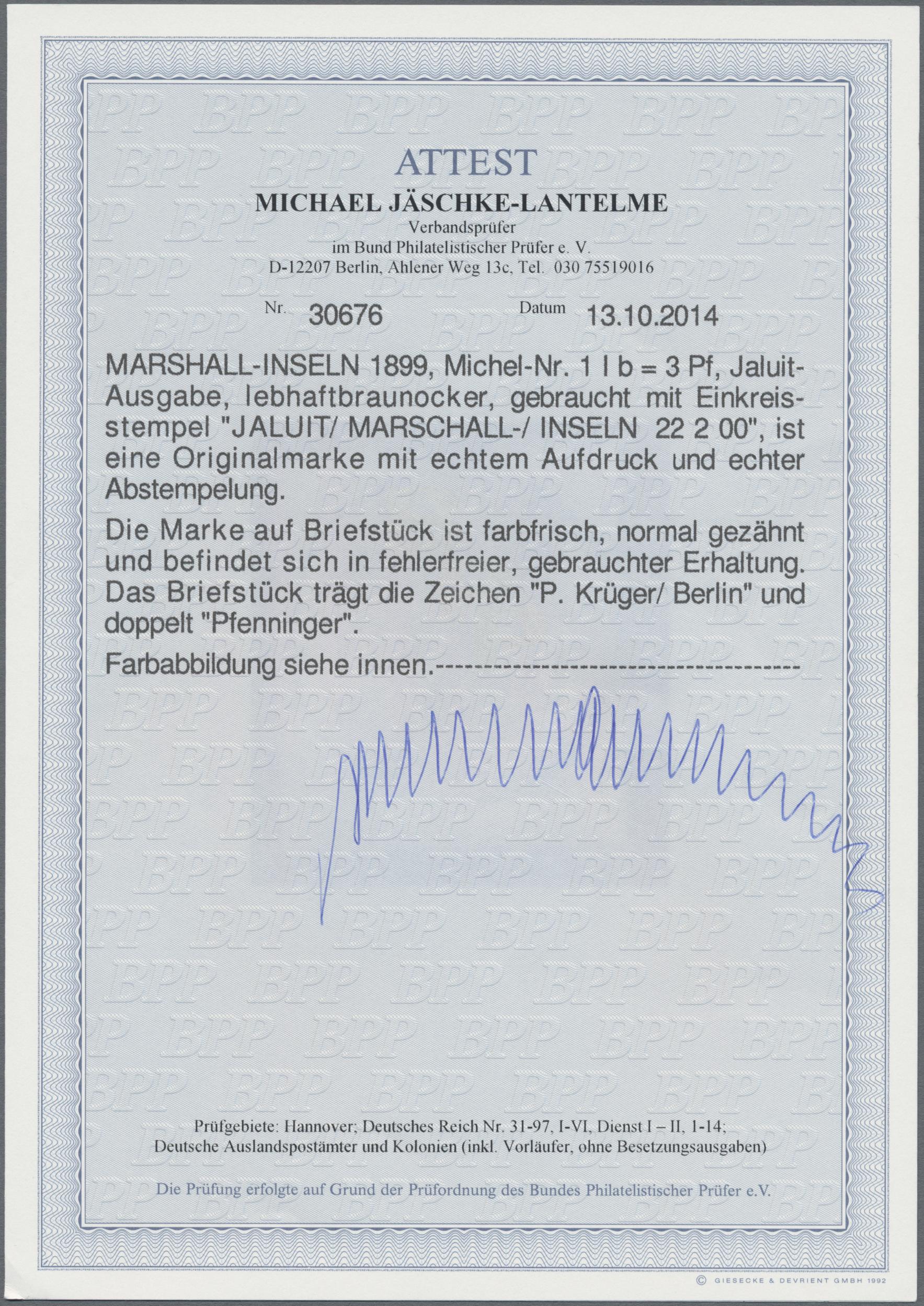 Lot 22826 - Deutsche Kolonien - Marshall-Inseln  -  Auktionshaus Christoph Gärtner GmbH & Co. KG Sale #44 Germany, Picture Post cards