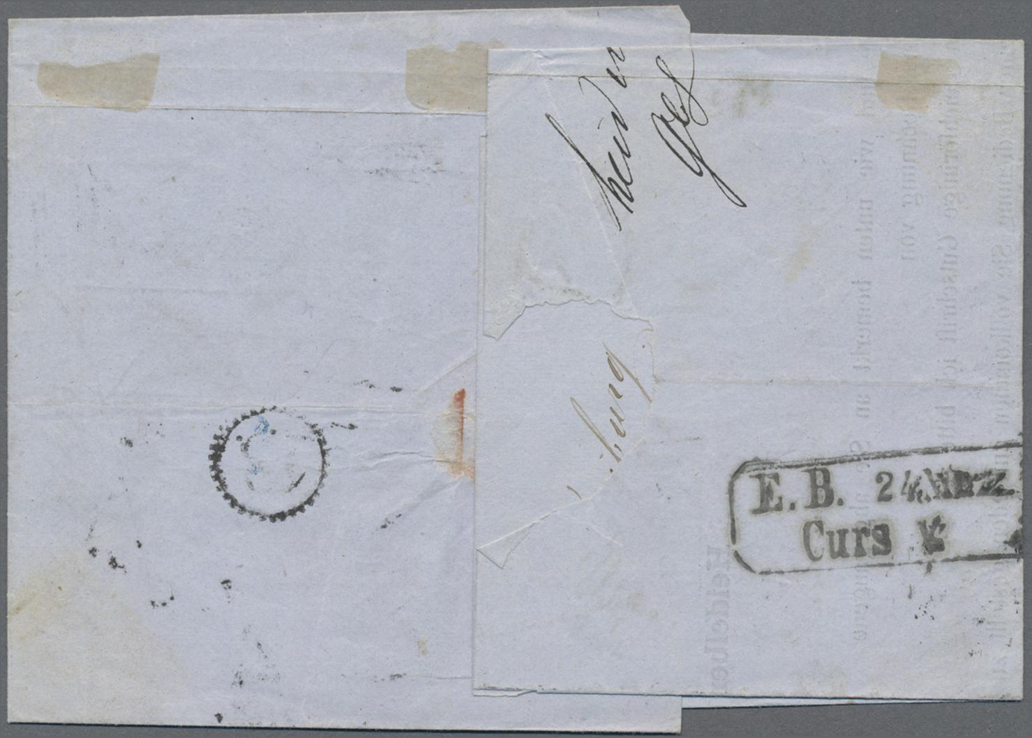 Lot 05020 - Baden - Postablagestempel  -  Auktionshaus Christoph Gärtner GmbH & Co. KG 51th Auction - Day 3