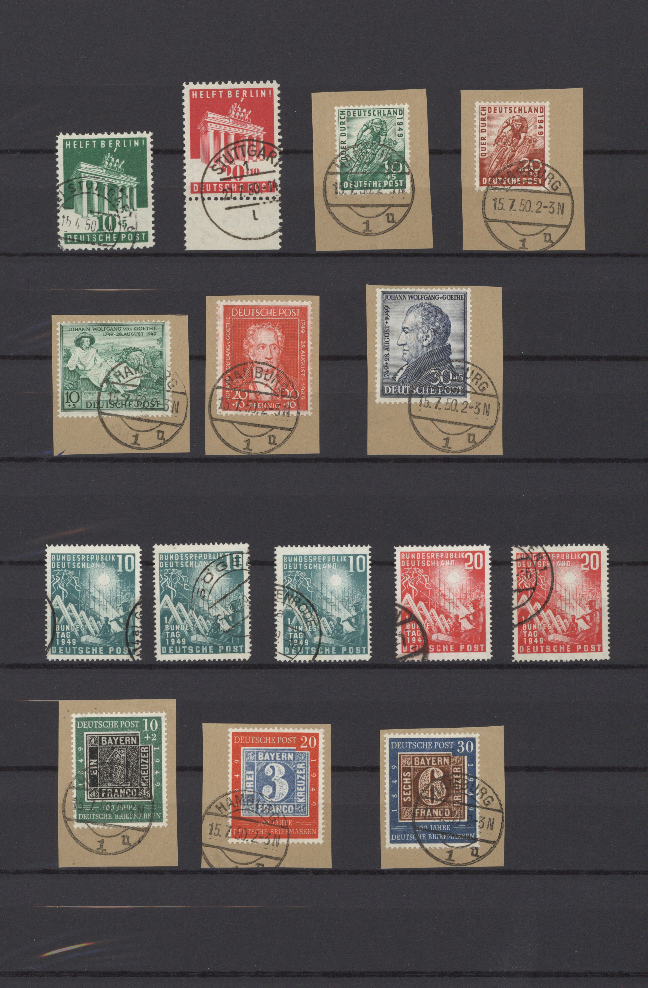 Lot 37549 - bundesrepublik deutschland  -  Auktionshaus Christoph Gärtner GmbH & Co. KG Sale #44 Collections Germany