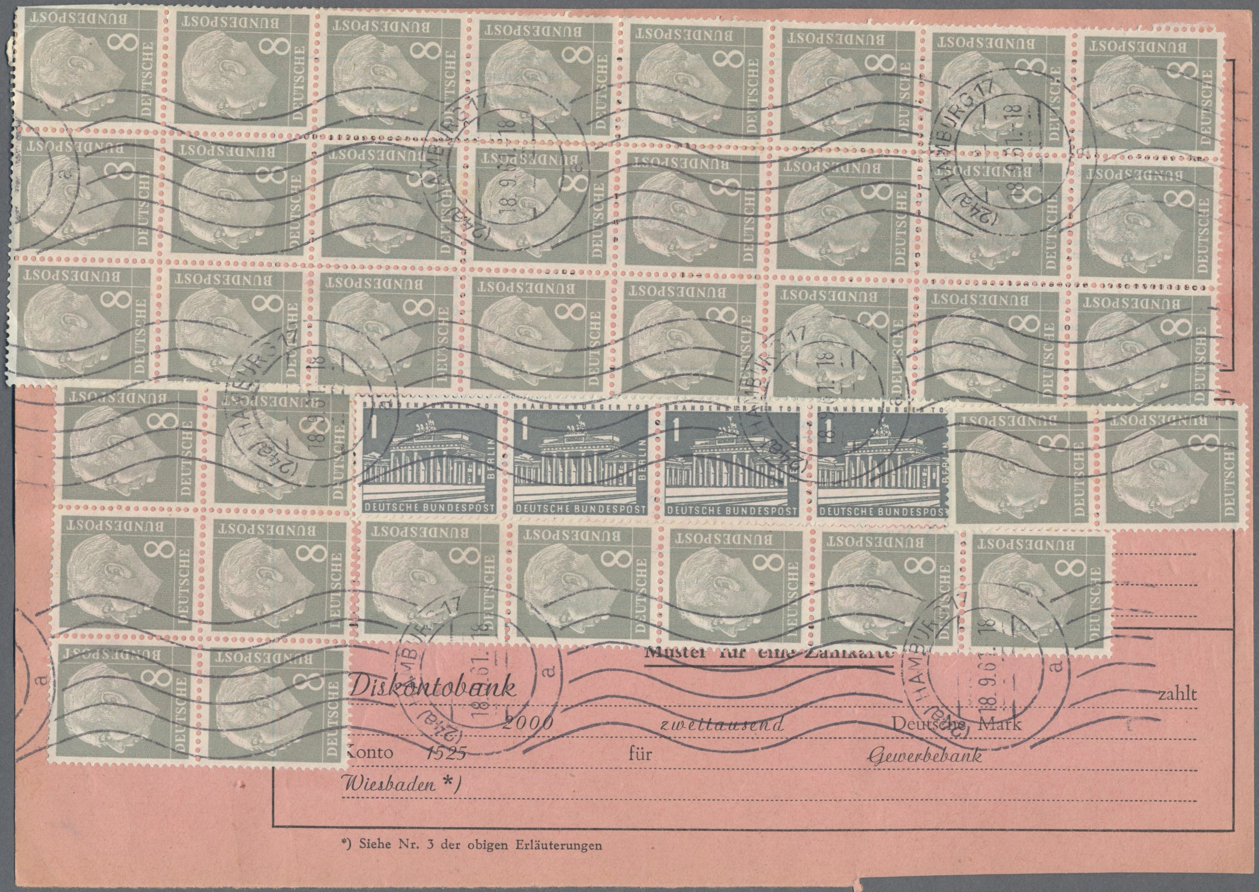 Lot 12607 - bundesrepublik deutschland  -  Auktionshaus Christoph Gärtner GmbH & Co. KG Sale #48 The Single Lots Philatelie
