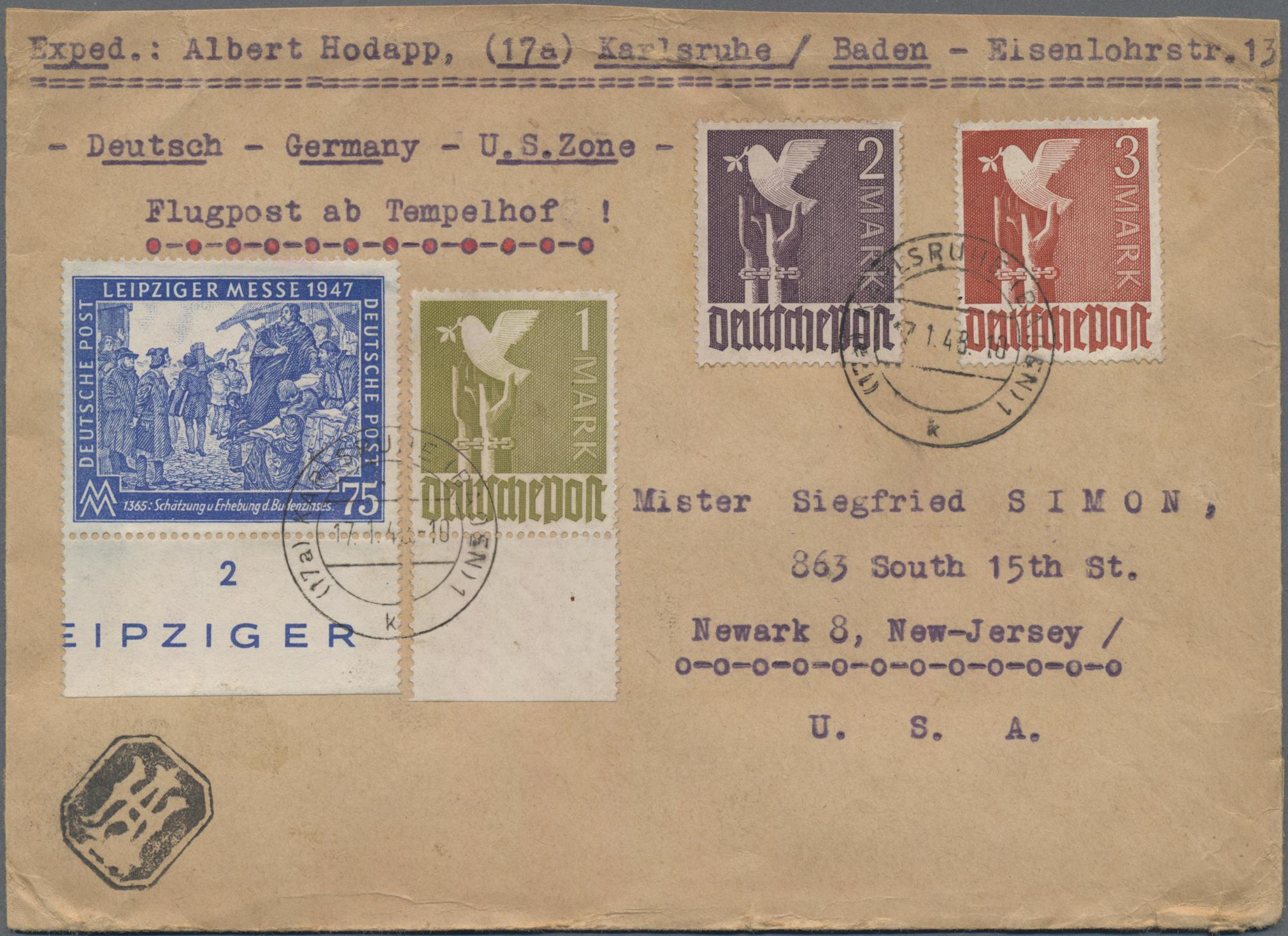 Lot 37272 - Alliierte Besetzung - Gemeinschaftsausgaben  -  Auktionshaus Christoph Gärtner GmbH & Co. KG Sale #44 Collections Germany