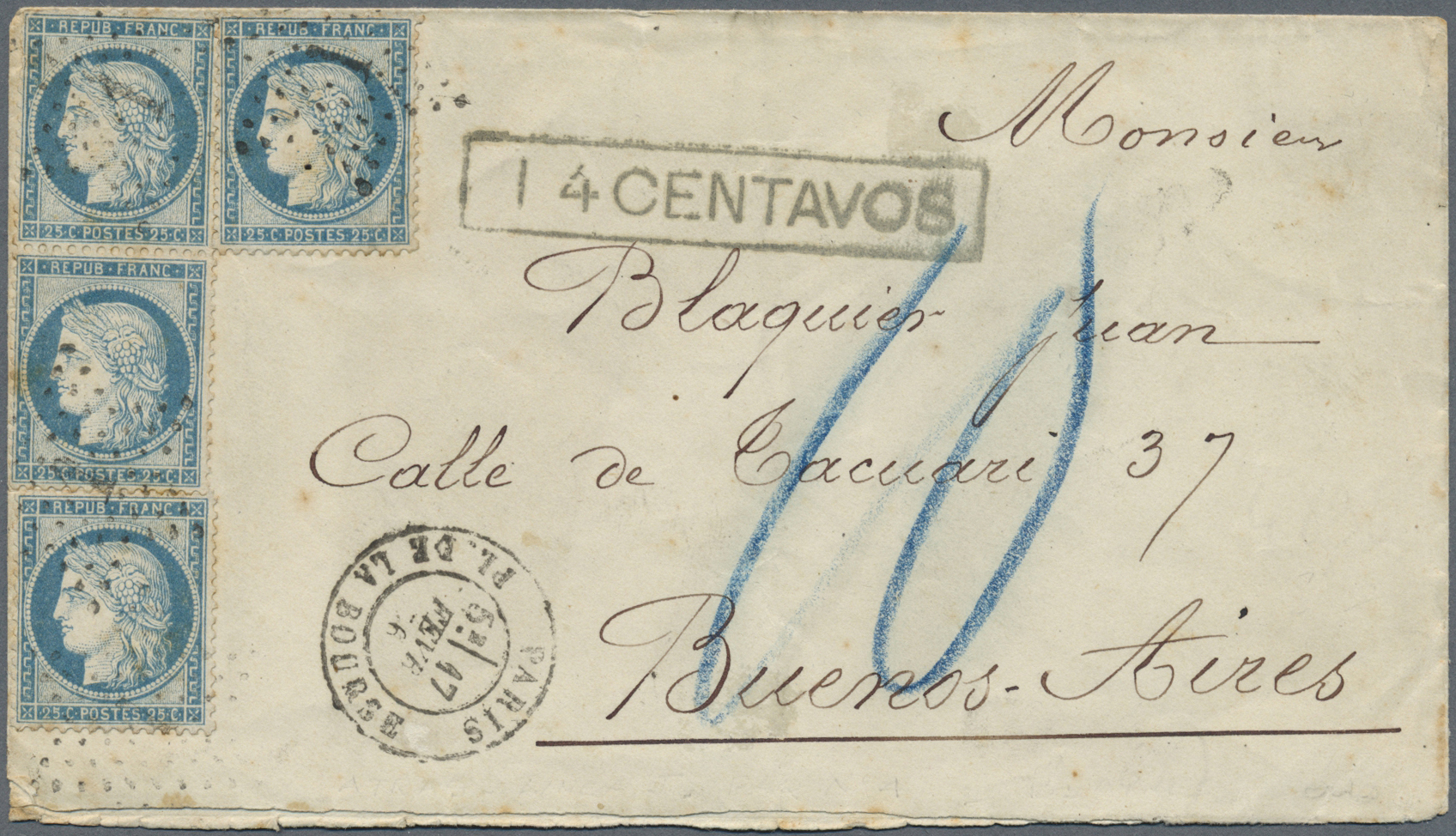 Lot 13182 - argentinien  -  Auktionshaus Christoph Gärtner GmbH & Co. KG Single lots Philately Overseas & Europe. Auction #39 Day 4