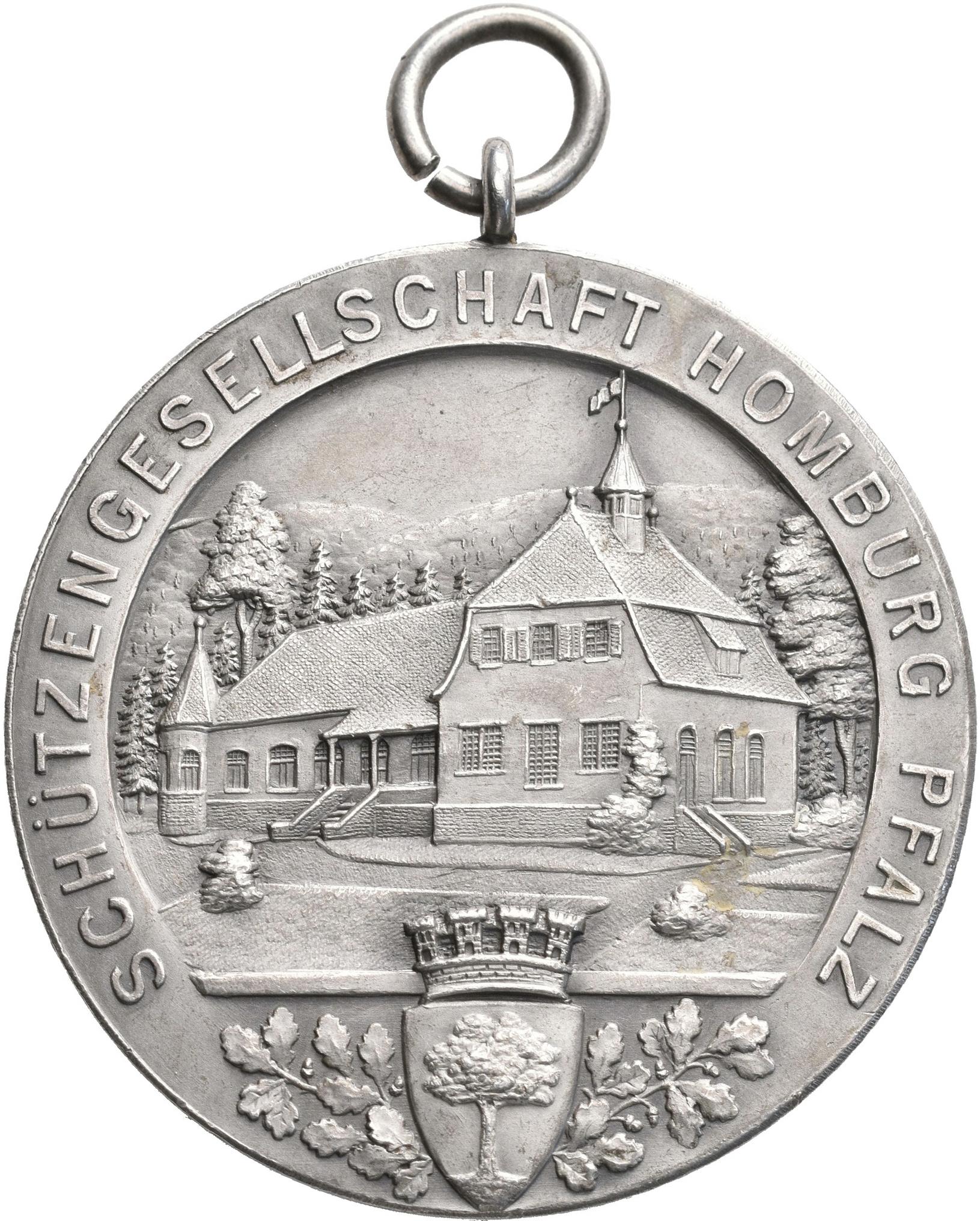 Lot 02407 - Medaillen Deutschland - Geographisch | Münzen  -  Auktionshaus Christoph Gärtner GmbH & Co. KG Sale #48 The Coins & The Picture Post Cards
