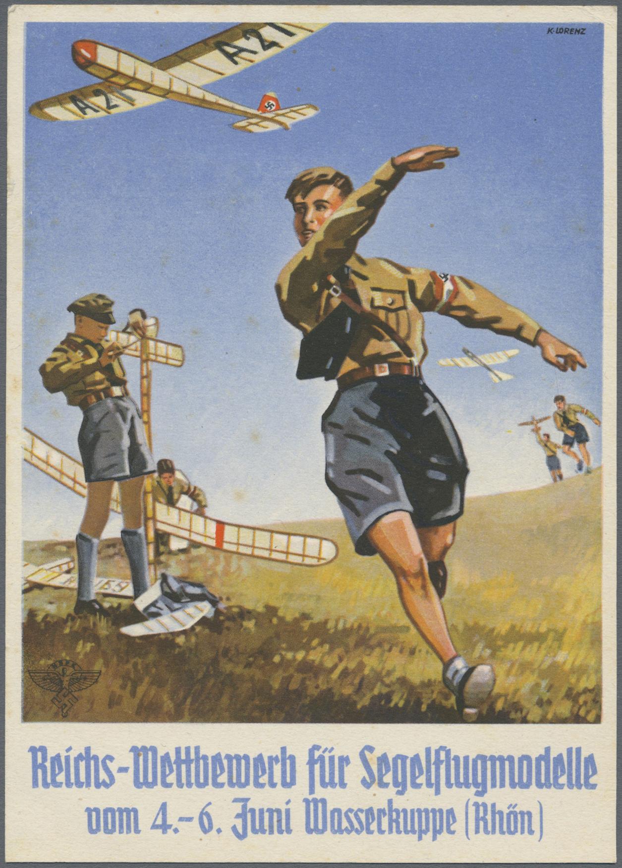 Lot 13736 - Ansichtskarten: Propaganda  -  Auktionshaus Christoph Gärtner GmbH & Co. KG 50th Auction Anniversary Auction - Day 4