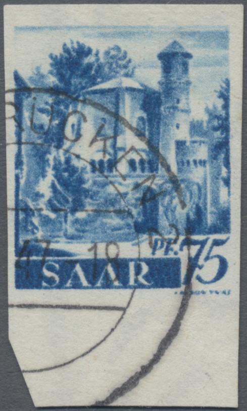 Lot 20259 - Saarland (1947/56)  -  Auktionshaus Christoph Gärtner GmbH & Co. KG Sale #45- GERMANY