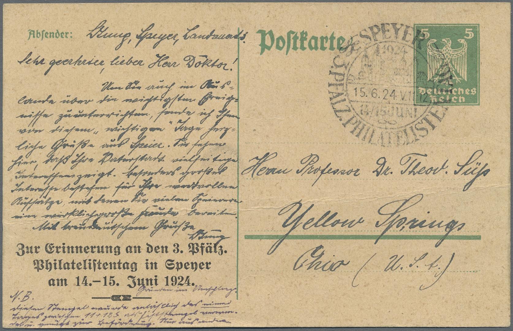 Lot 36837 - Deutsches Reich - Ganzsachen  -  Auktionshaus Christoph Gärtner GmbH & Co. KG Sale #44 Collections Germany