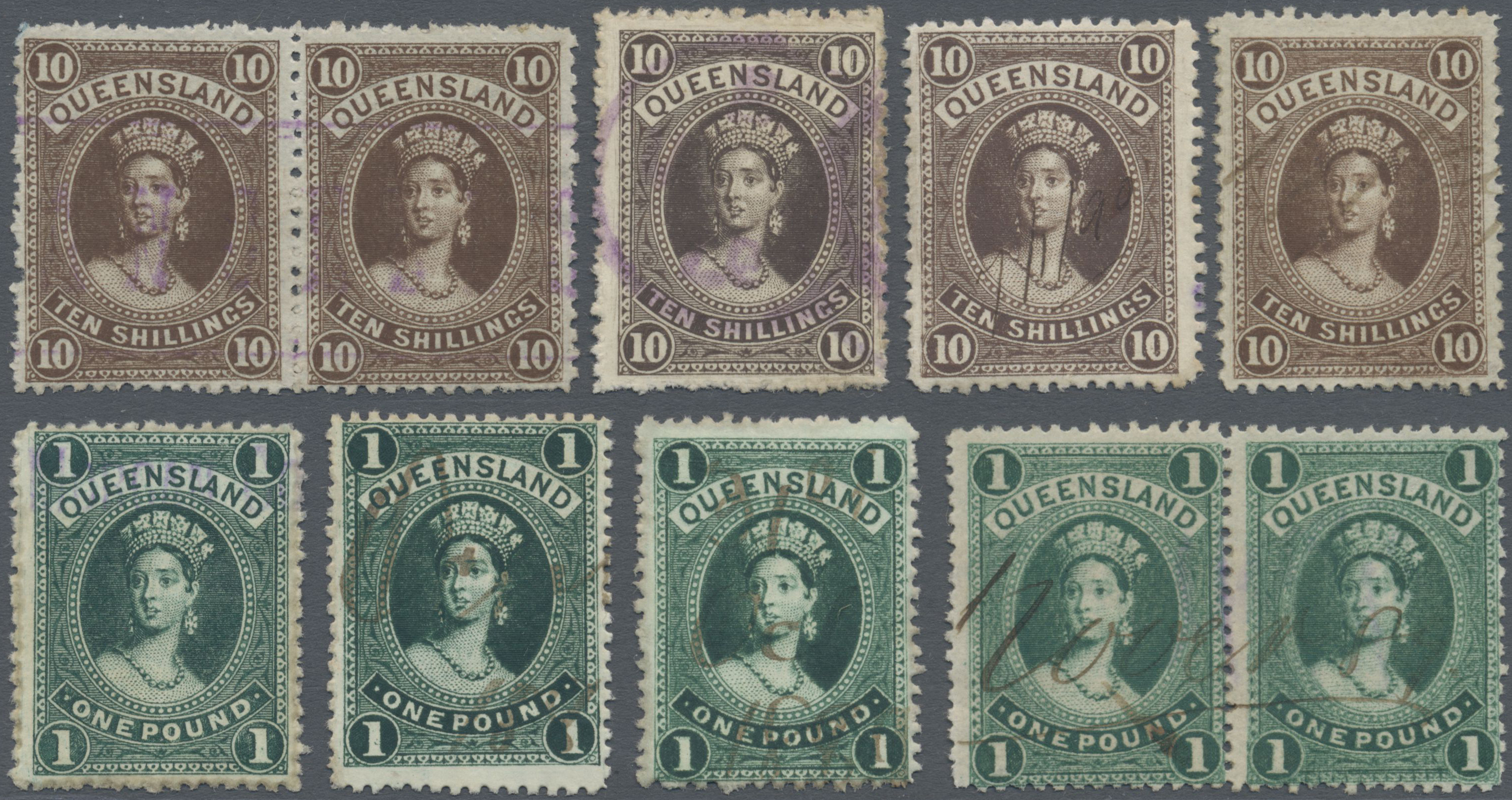 Lot 34535 - queensland  -  Auktionshaus Christoph Gärtner GmbH & Co. KG Sale #44 Collections Germany