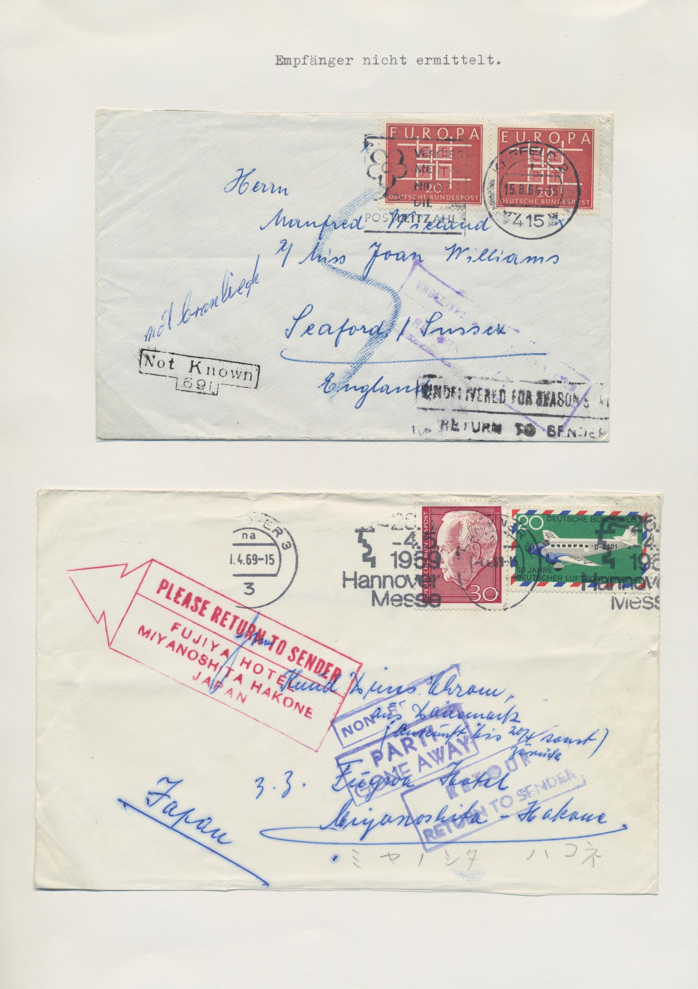 Lot 37712 - Bundesrepublik - Besonderheiten  -  Auktionshaus Christoph Gärtner GmbH & Co. KG Sale #44 Collections Germany