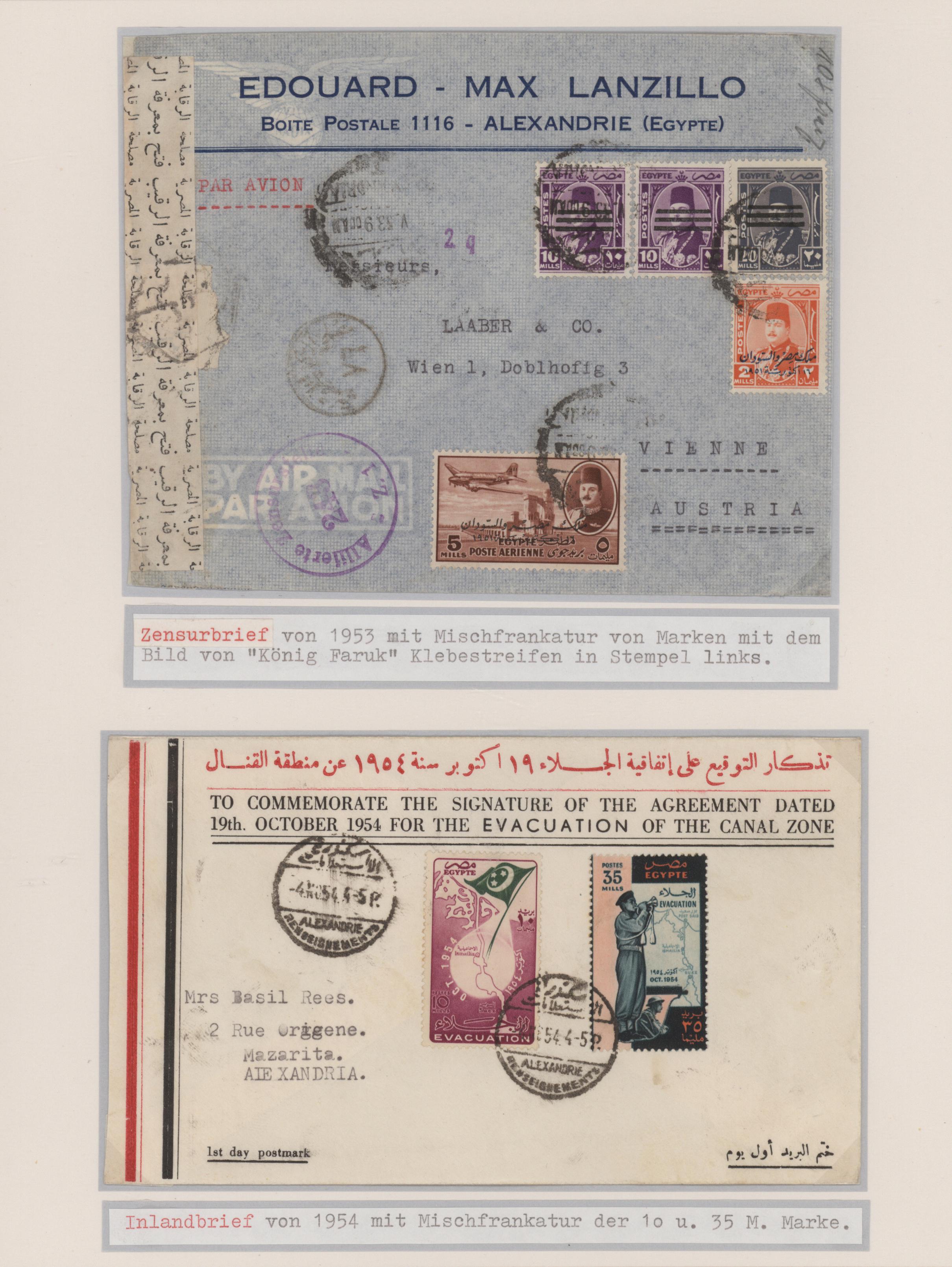 Lot 09015 - ägypten  -  Auktionshaus Christoph Gärtner GmbH & Co. KG 51th Auction - Day 4