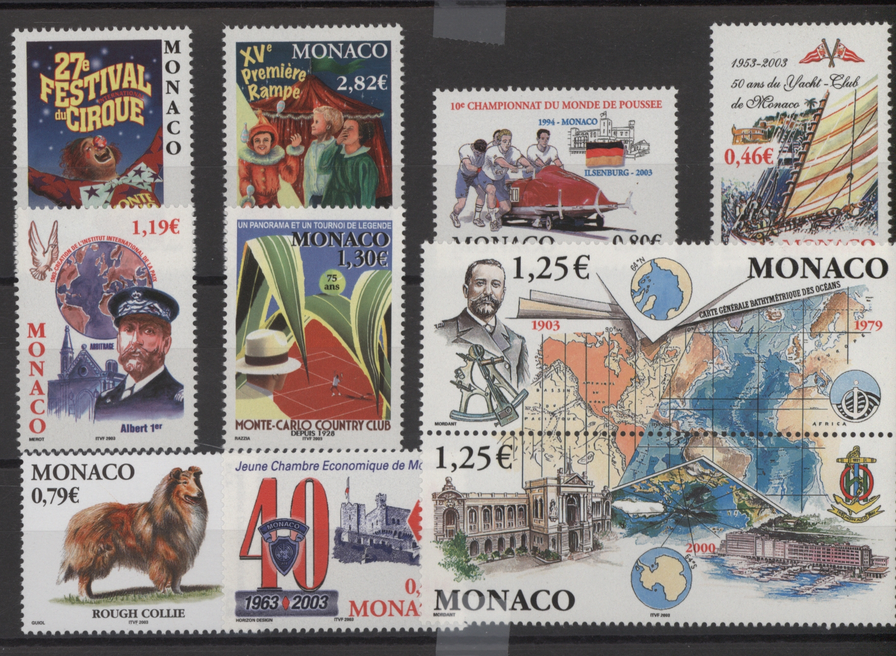 Lot 18934 - Monaco  -  Auktionshaus Christoph Gärtner GmbH & Co. KG 50th Auction Anniversary Auction - Day 5