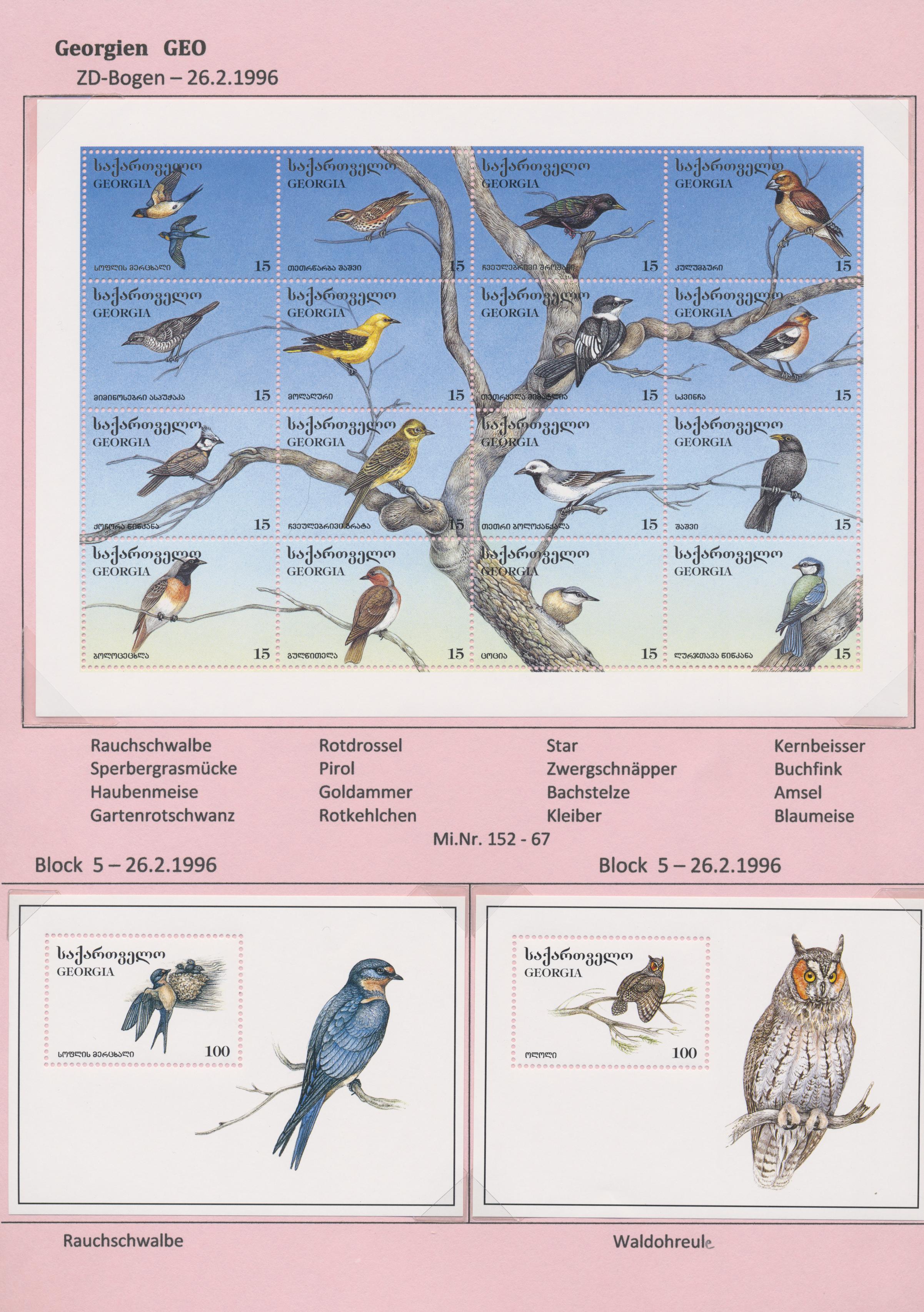 Lot 31095 - thematik: tiere-vögel / animals-birds  -  Auktionshaus Christoph Gärtner GmbH & Co. KG Sale #44 Collections Overseas, Europe