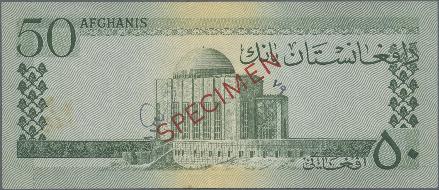 Lot 00004 - Afghanistan | Banknoten  -  Auktionshaus Christoph Gärtner GmbH & Co. KG Sale #48 The Banknotes