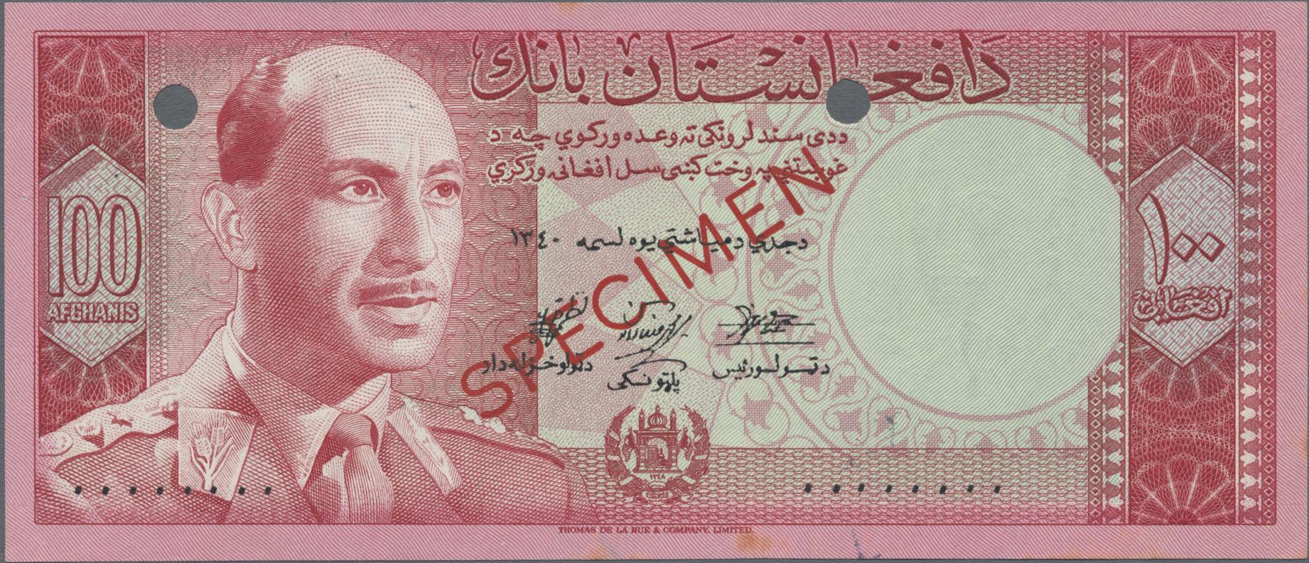 Lot 00005 - Afghanistan   Banknoten  -  Auktionshaus Christoph Gärtner GmbH & Co. KG Sale #48 The Banknotes