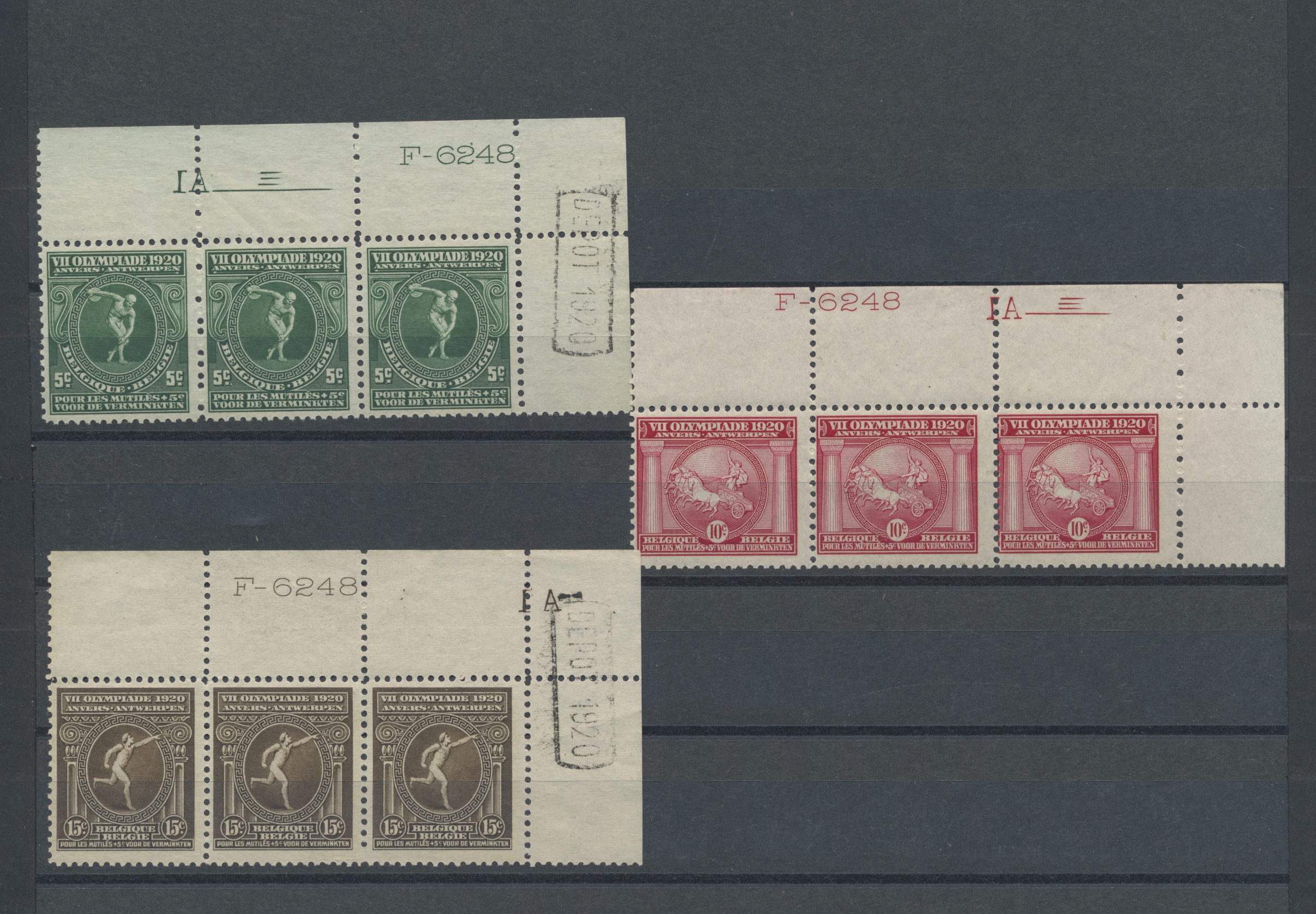 Lot 15653 - thematik: olympische spiele / olympic games  -  Auktionshaus Christoph Gärtner GmbH & Co. KG Sale #48 collections Overseas  Airmail / Ship mail & Thematics