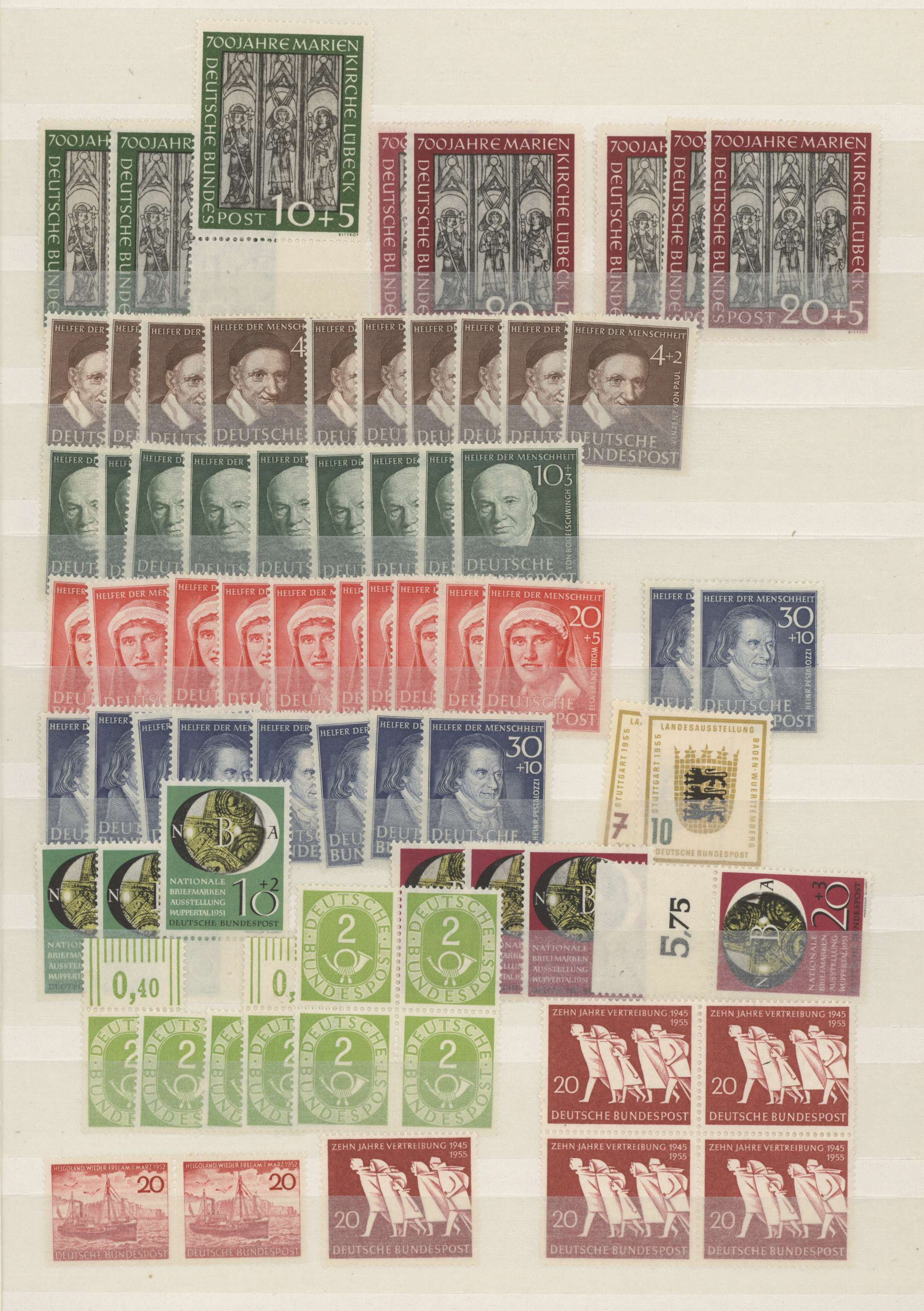 Lot 37557 - bundesrepublik deutschland  -  Auktionshaus Christoph Gärtner GmbH & Co. KG Sale #44 Collections Germany