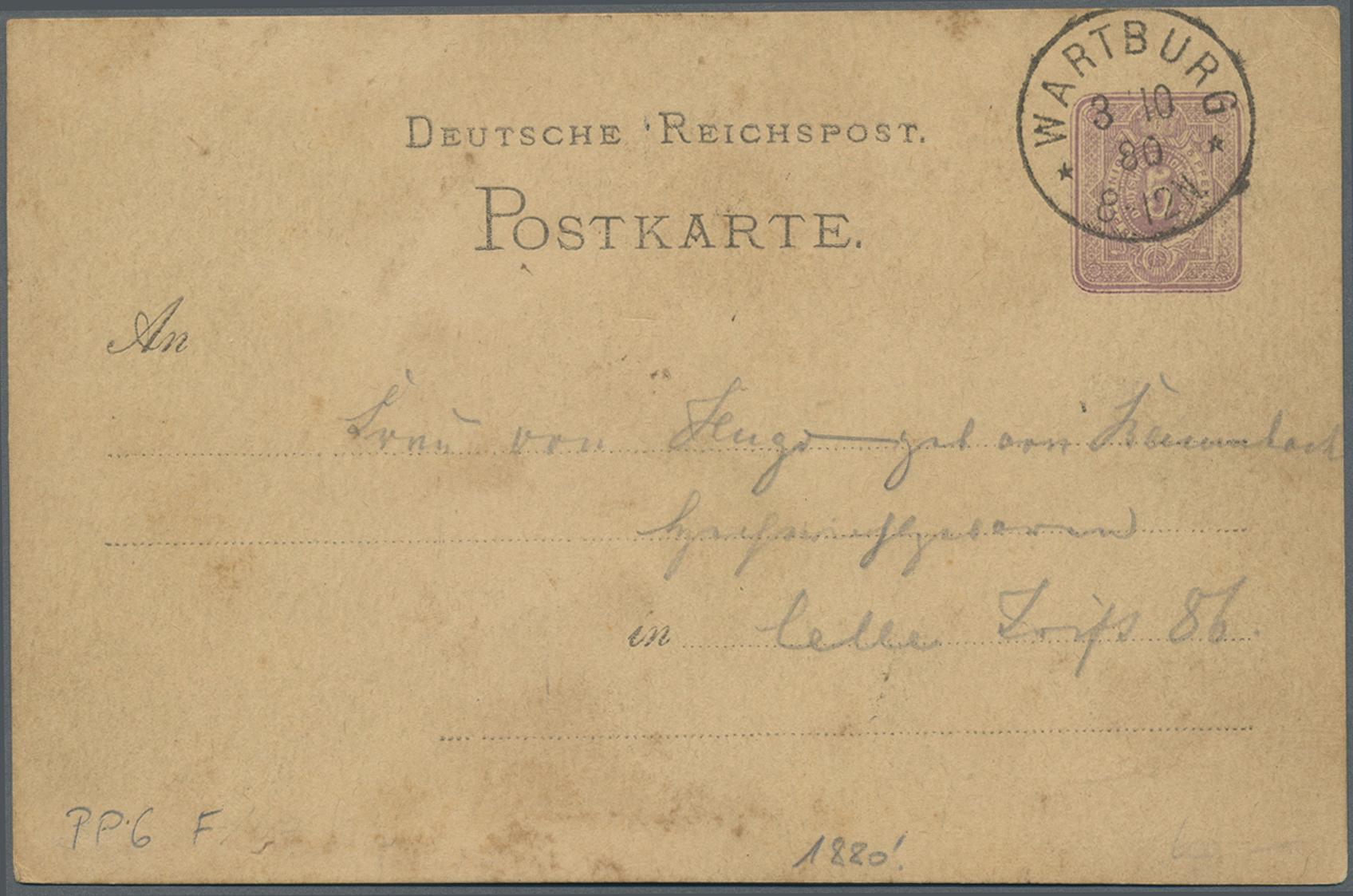 Lot 21182 - Ansichtskarten: Vorläufer  -  Auktionshaus Christoph Gärtner GmbH & Co. KG Auction #40 Germany, Picture Post Cards, Collections Overseas, Thematics