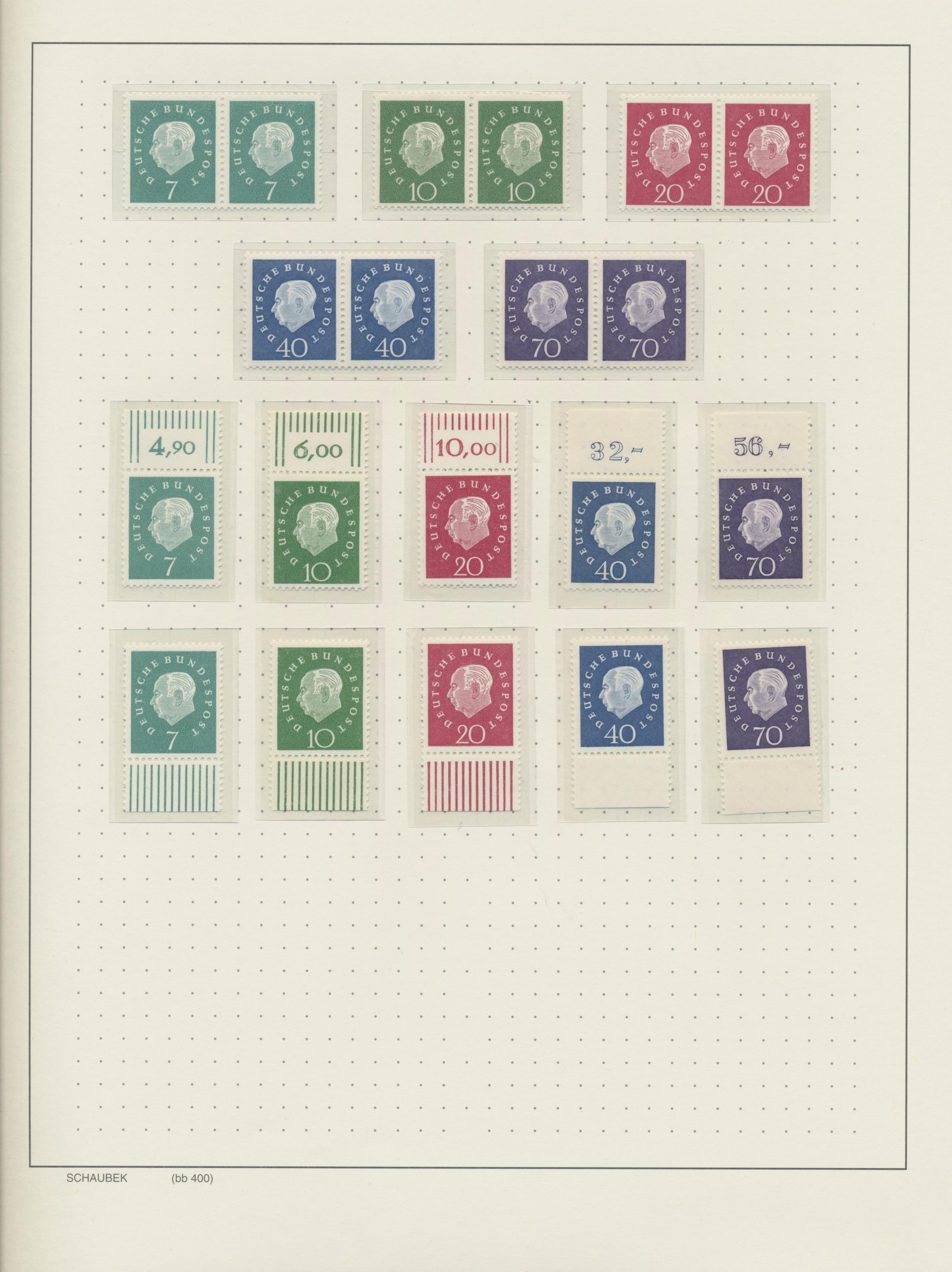 Lot 37610 - bundesrepublik deutschland  -  Auktionshaus Christoph Gärtner GmbH & Co. KG Sale #44 Collections Germany