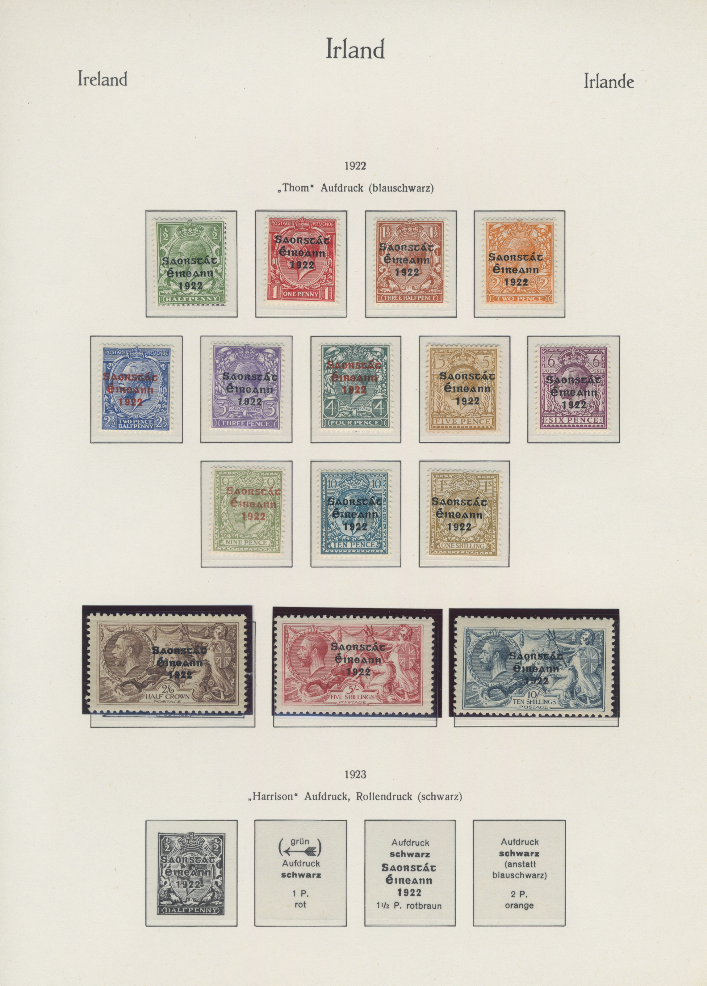Lot 17150 - irland  -  Auktionshaus Christoph Gärtner GmbH & Co. KG Sale #48 collections Overseas  Airmail / Ship mail & Thematics