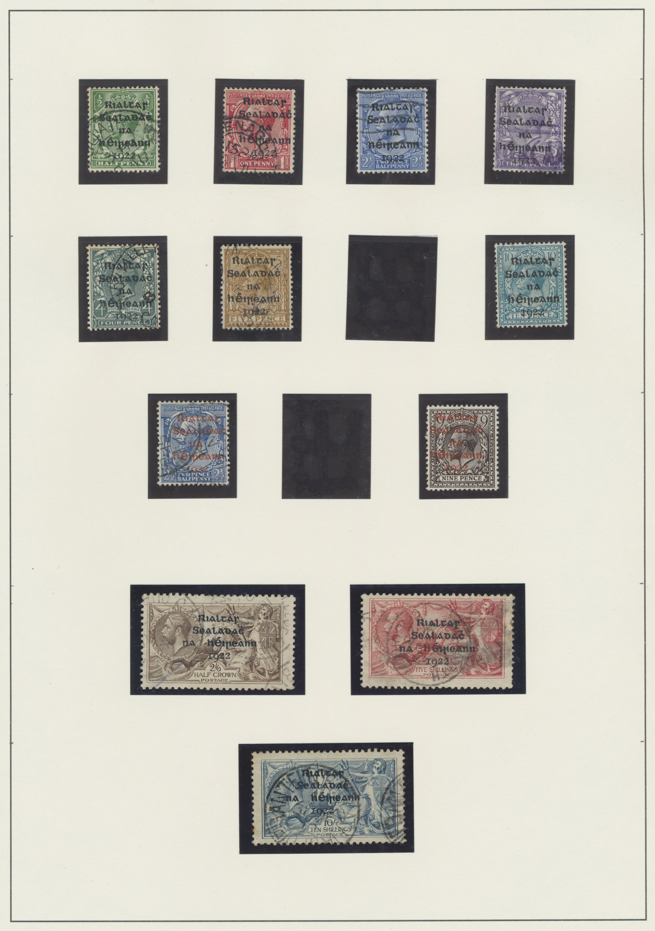 Lot 17152 - irland  -  Auktionshaus Christoph Gärtner GmbH & Co. KG Sale #48 collections Overseas  Airmail / Ship mail & Thematics