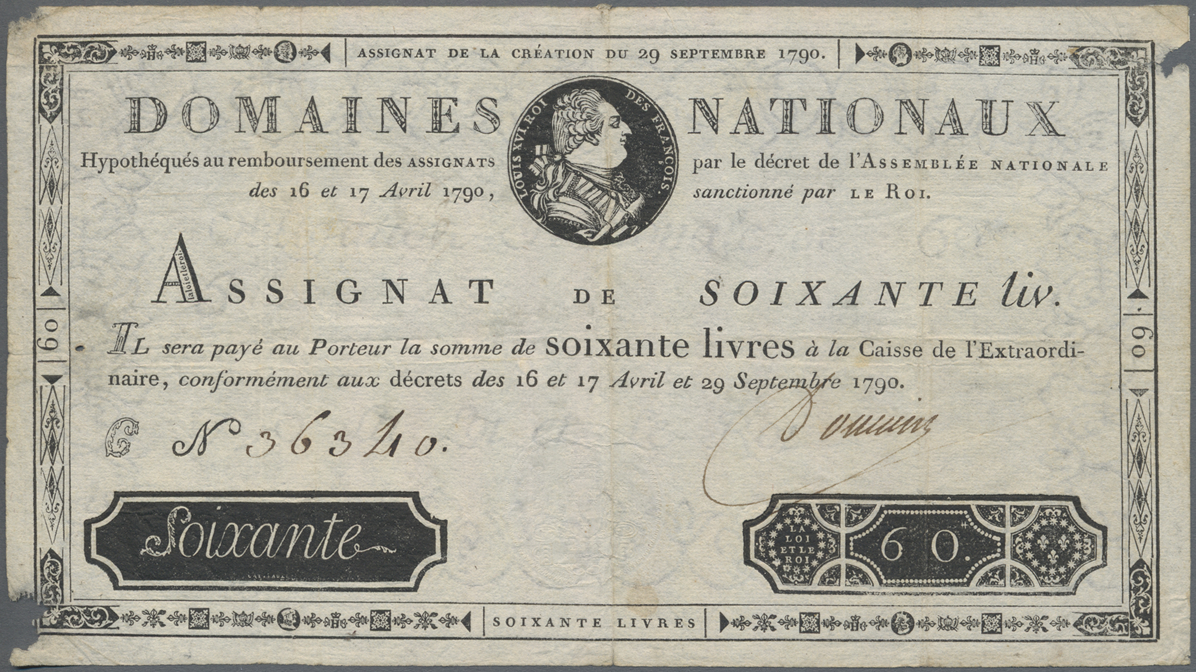 Lot 00260 - France / Frankreich | Banknoten  -  Auktionshaus Christoph Gärtner GmbH & Co. KG Sale #48 The Banknotes