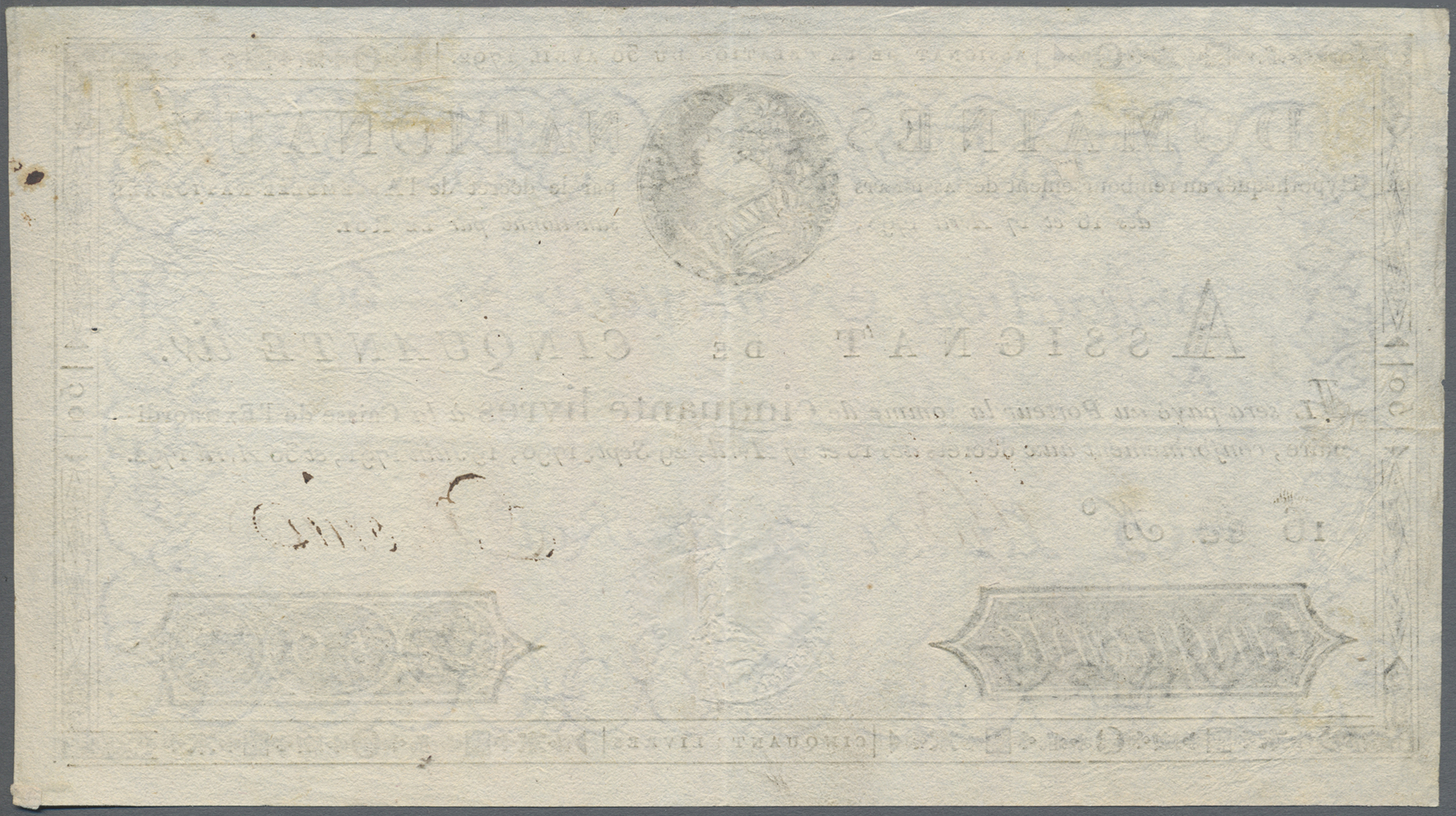Lot 00264 - France / Frankreich | Banknoten  -  Auktionshaus Christoph Gärtner GmbH & Co. KG Sale #48 The Banknotes