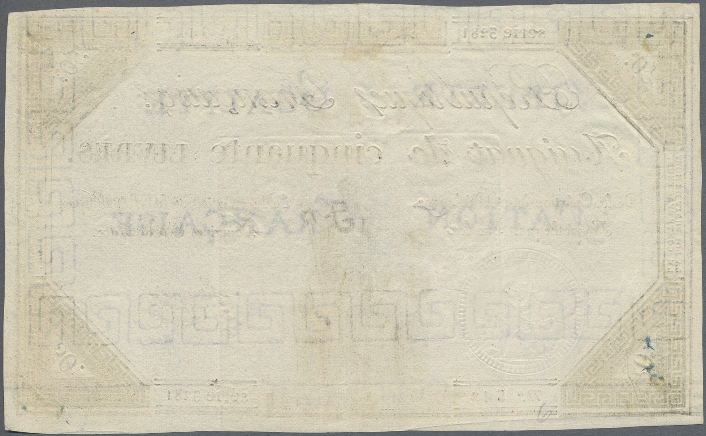 Lot 00267 - France / Frankreich | Banknoten  -  Auktionshaus Christoph Gärtner GmbH & Co. KG Sale #48 The Banknotes
