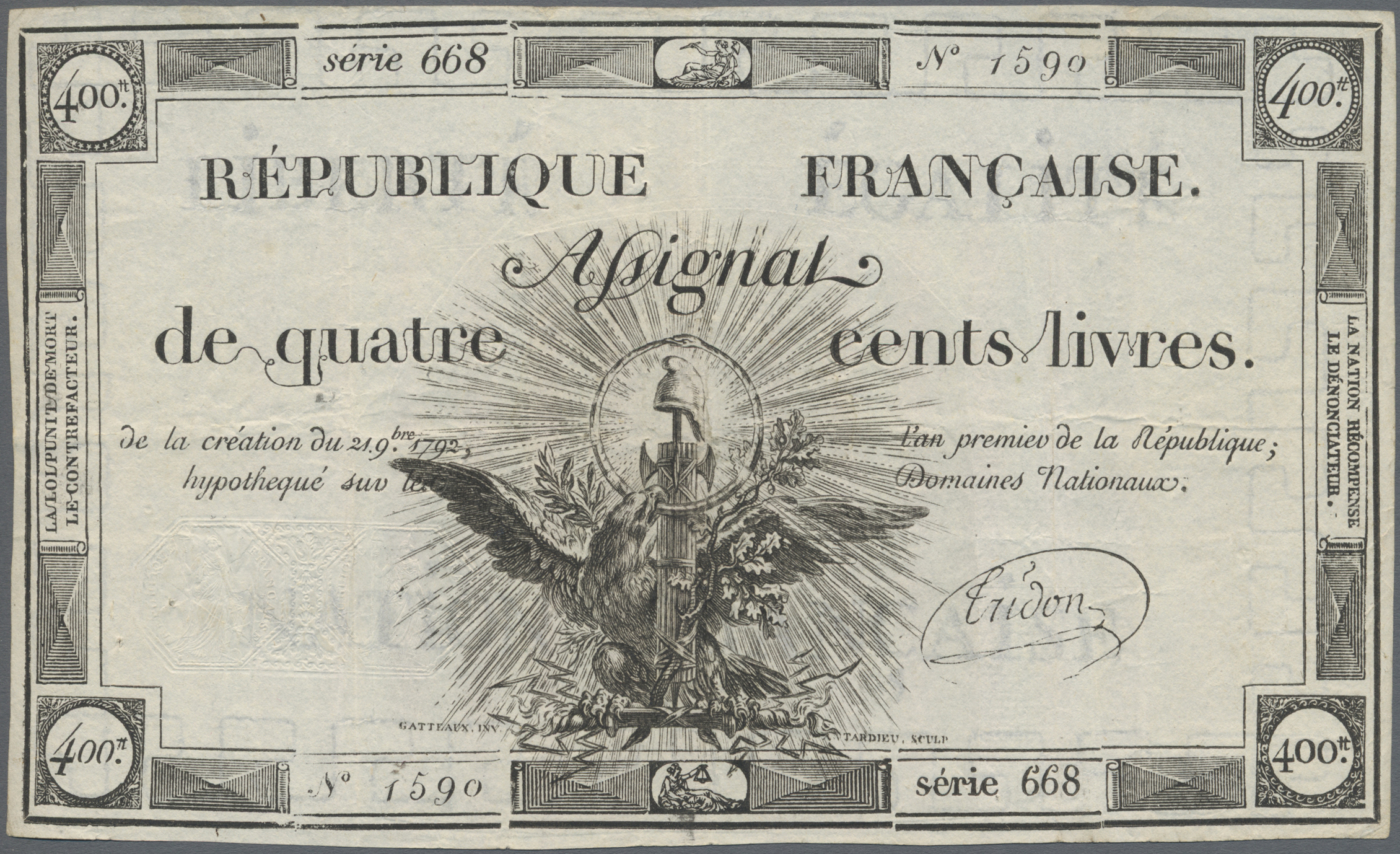Lot 00269 - France / Frankreich | Banknoten  -  Auktionshaus Christoph Gärtner GmbH & Co. KG Sale #48 The Banknotes