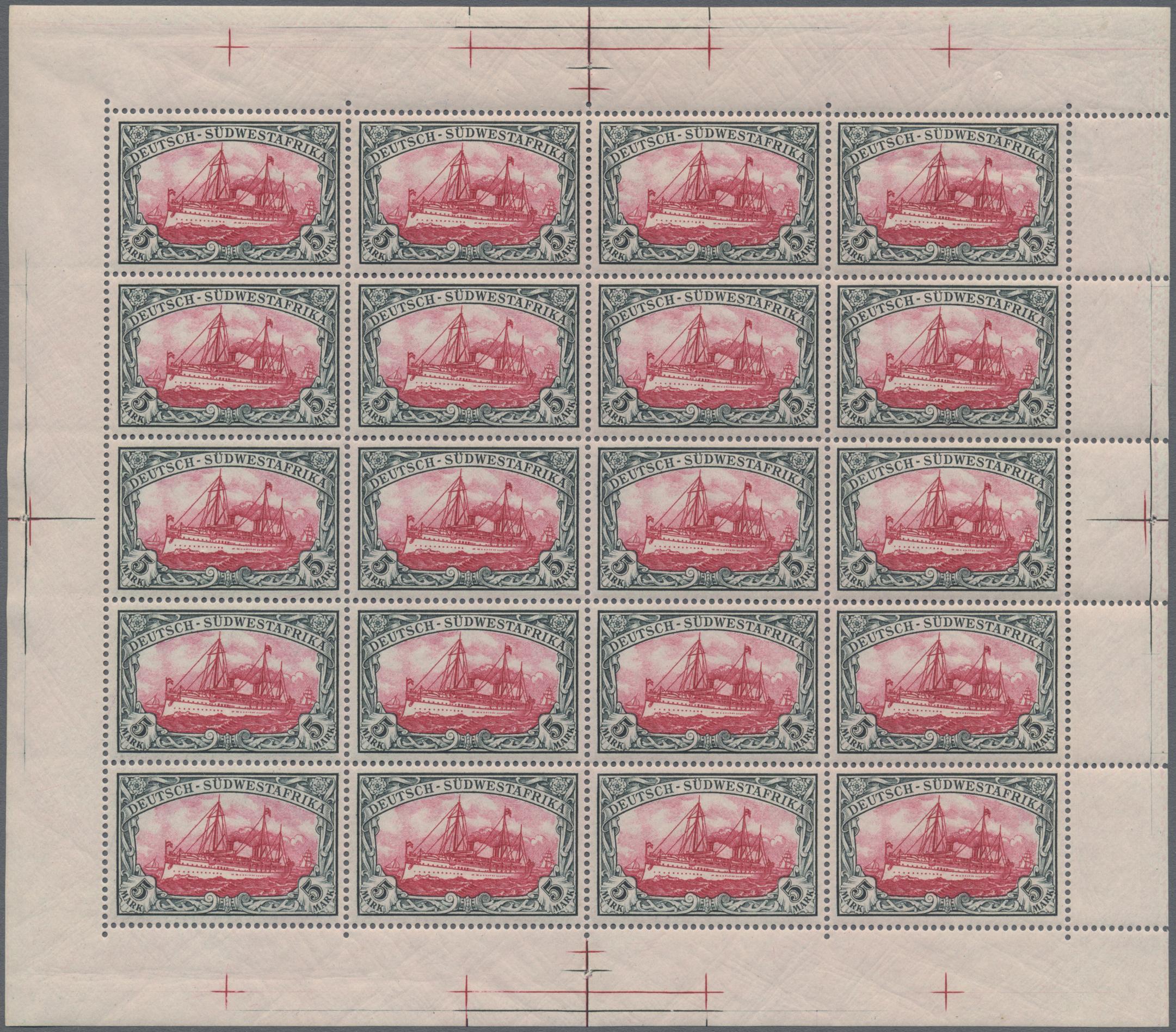 Lot 1295 - deutsch-südwestafrika  -  Auktionshaus Christoph Gärtner GmbH & Co. KG Auction #41 Special auction part two