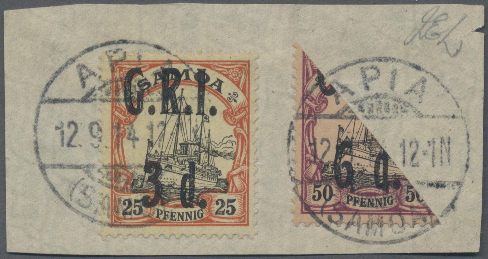 Lot 15783 - Deutsche Kolonien - Samoa - Britische Besetzung  -  Auktionshaus Christoph Gärtner GmbH & Co. KG Sale #46 Single lots Germany - and picture post cards