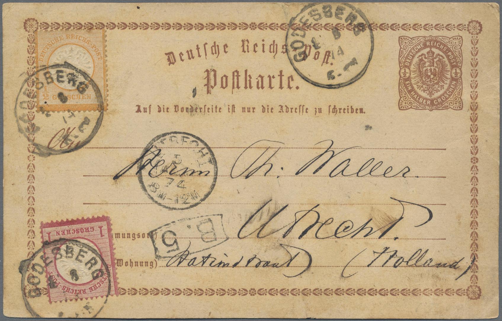 Lot 11299 - Deutsches Reich - Brustschild  -  Auktionshaus Christoph Gärtner GmbH & Co. KG 50th Auction Anniversary Auction - Day 4