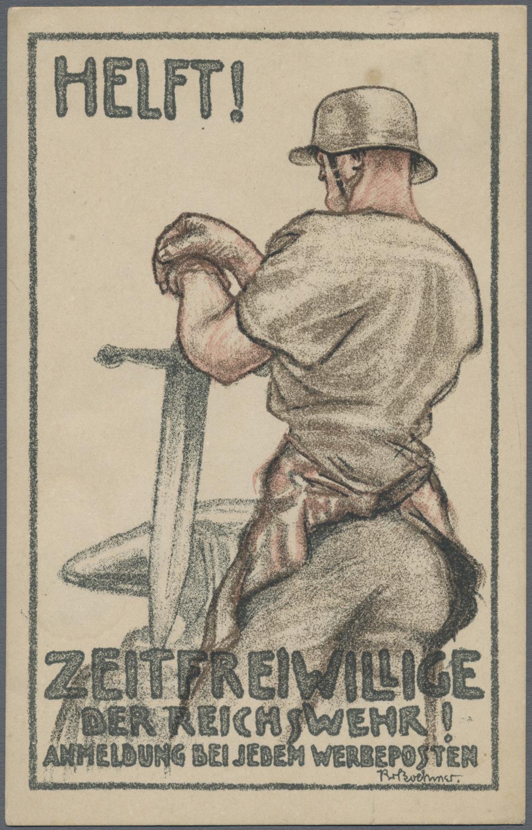 Lot 24812 - ansichtskarten: politik / politics  -  Auktionshaus Christoph Gärtner GmbH & Co. KG 50th Auction Anniversary Auction - Day 7