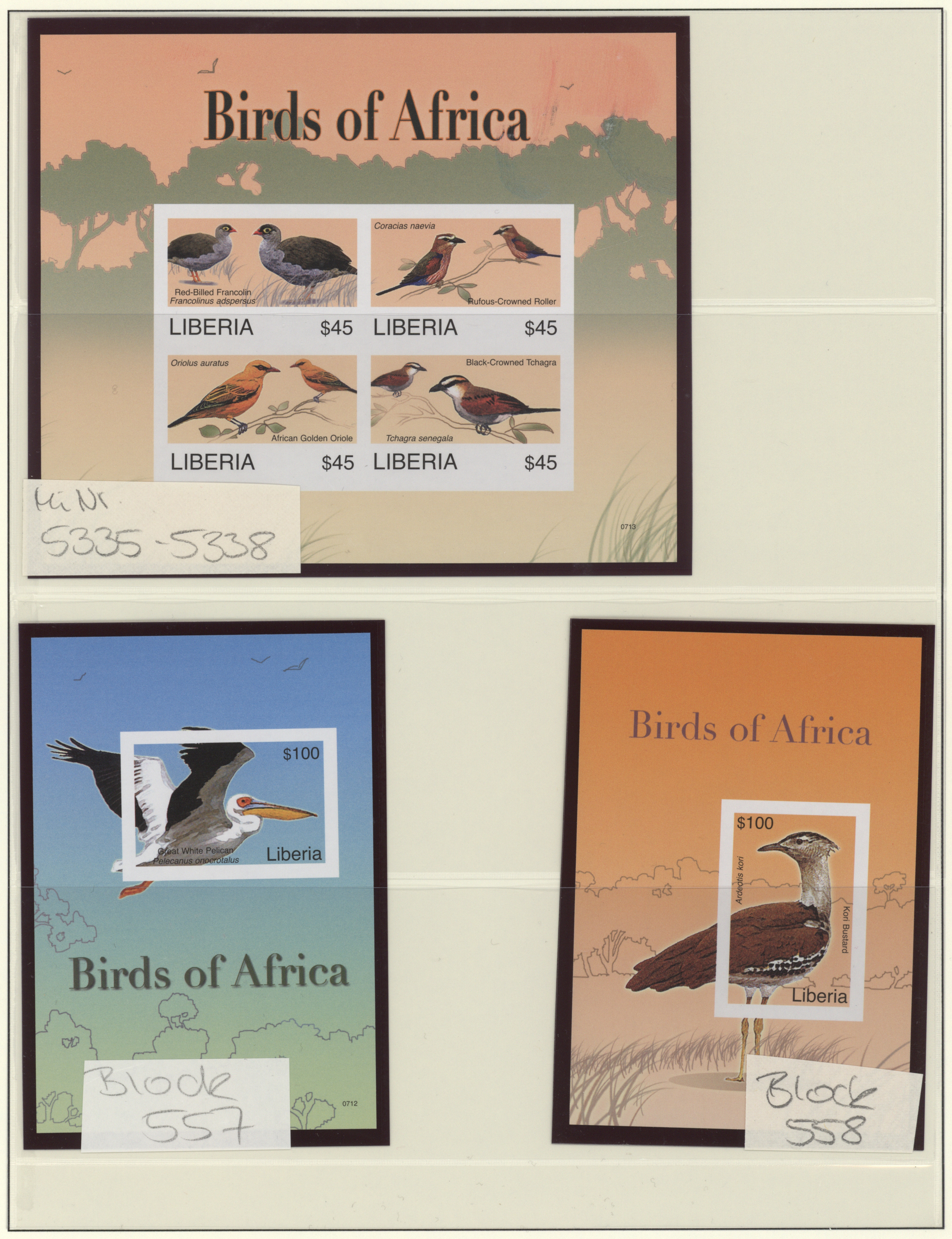 Lot 16765 - Liberia  -  Auktionshaus Christoph Gärtner GmbH & Co. KG 50th Auction Anniversary Auction - Day 5
