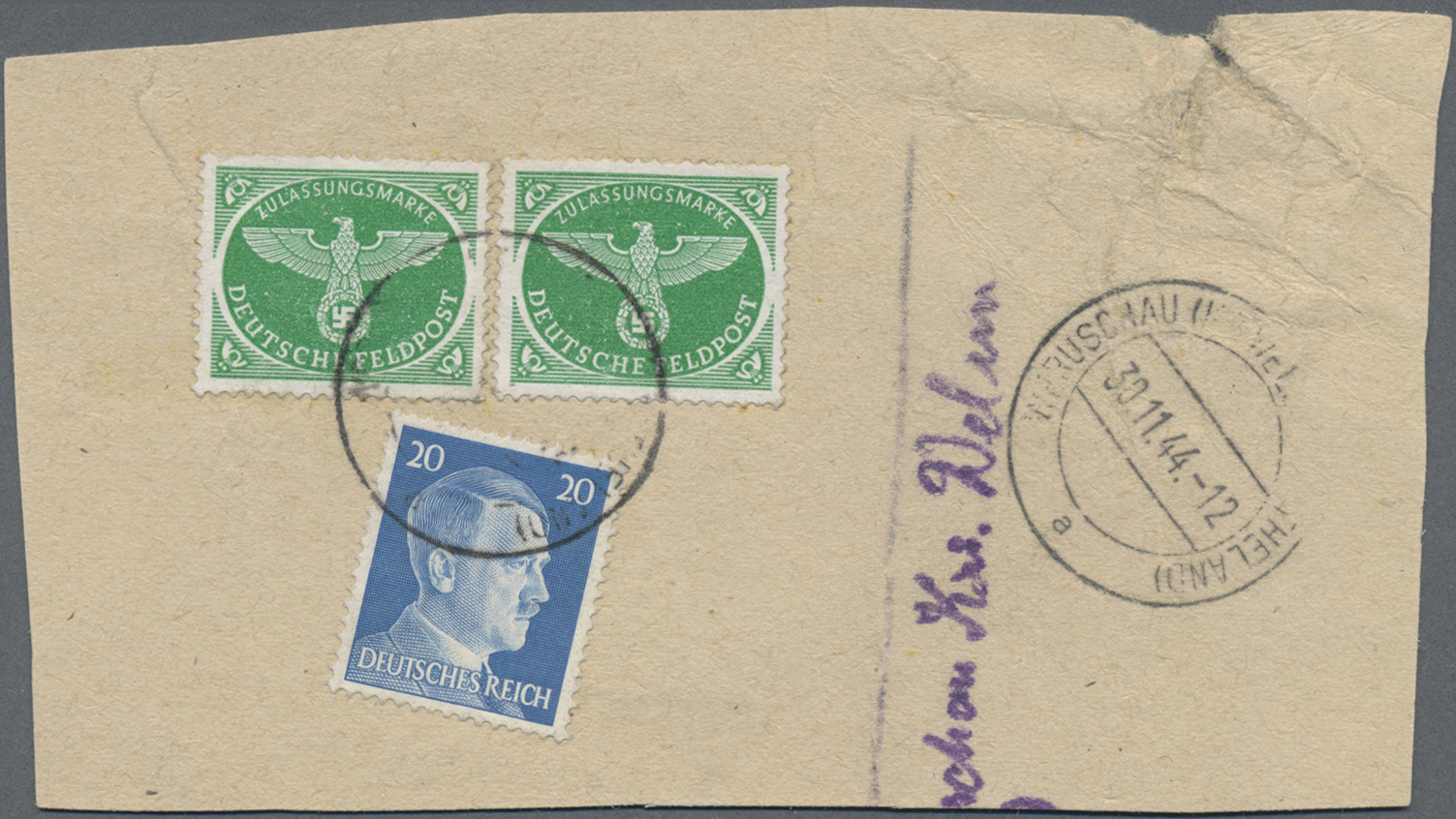 Lot 37140 - feldpostmarken  -  Auktionshaus Christoph Gärtner GmbH & Co. KG Sale #44 Collections Germany