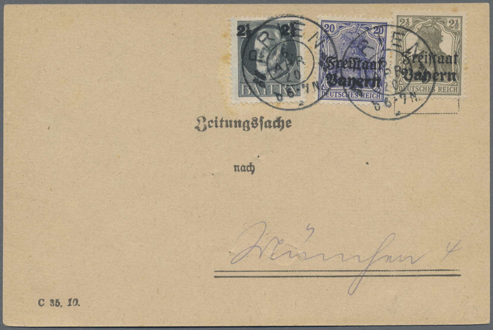 Lot 36483 - Deutsches Reich  -  Auktionshaus Christoph Gärtner GmbH & Co. KG Sale #44 Collections Germany