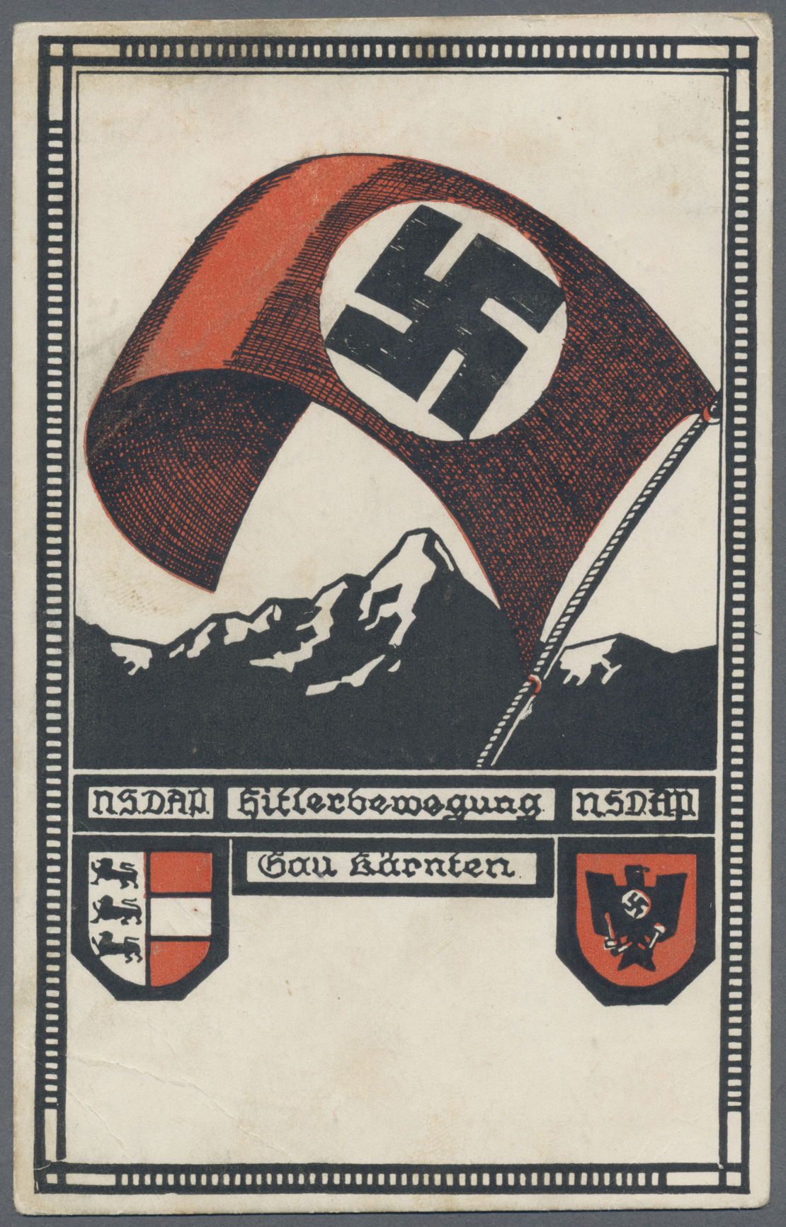 Lot 18138 - Ansichtskarten: Propaganda  -  Auktionshaus Christoph Gärtner GmbH & Co. KG Sale #46 Single lots Germany - and picture post cards