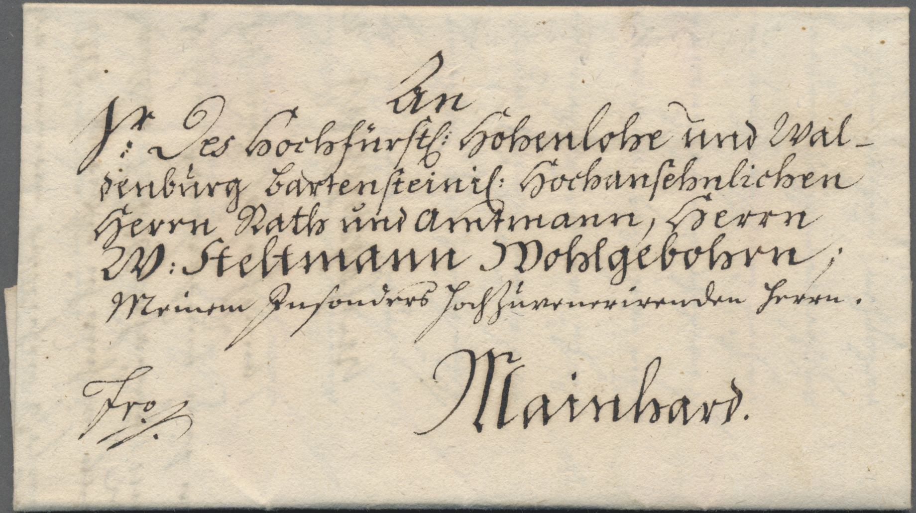 Lot 36158 - bayern - vorphilatelie  -  Auktionshaus Christoph Gärtner GmbH & Co. KG Sale #44 Collections Germany