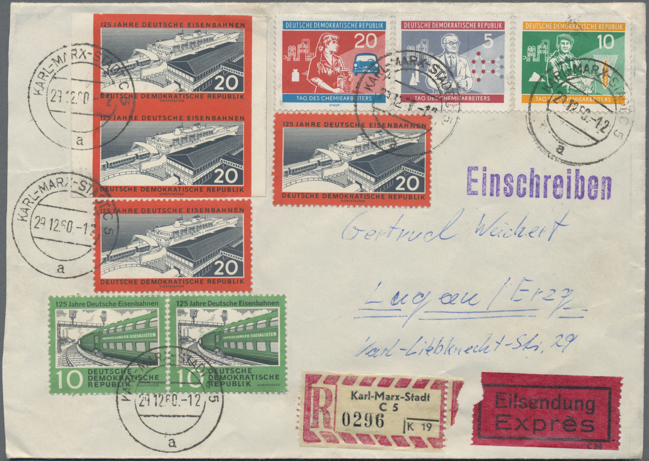 Lot 37367 - ddr  -  Auktionshaus Christoph Gärtner GmbH & Co. KG Sale #44 Collections Germany