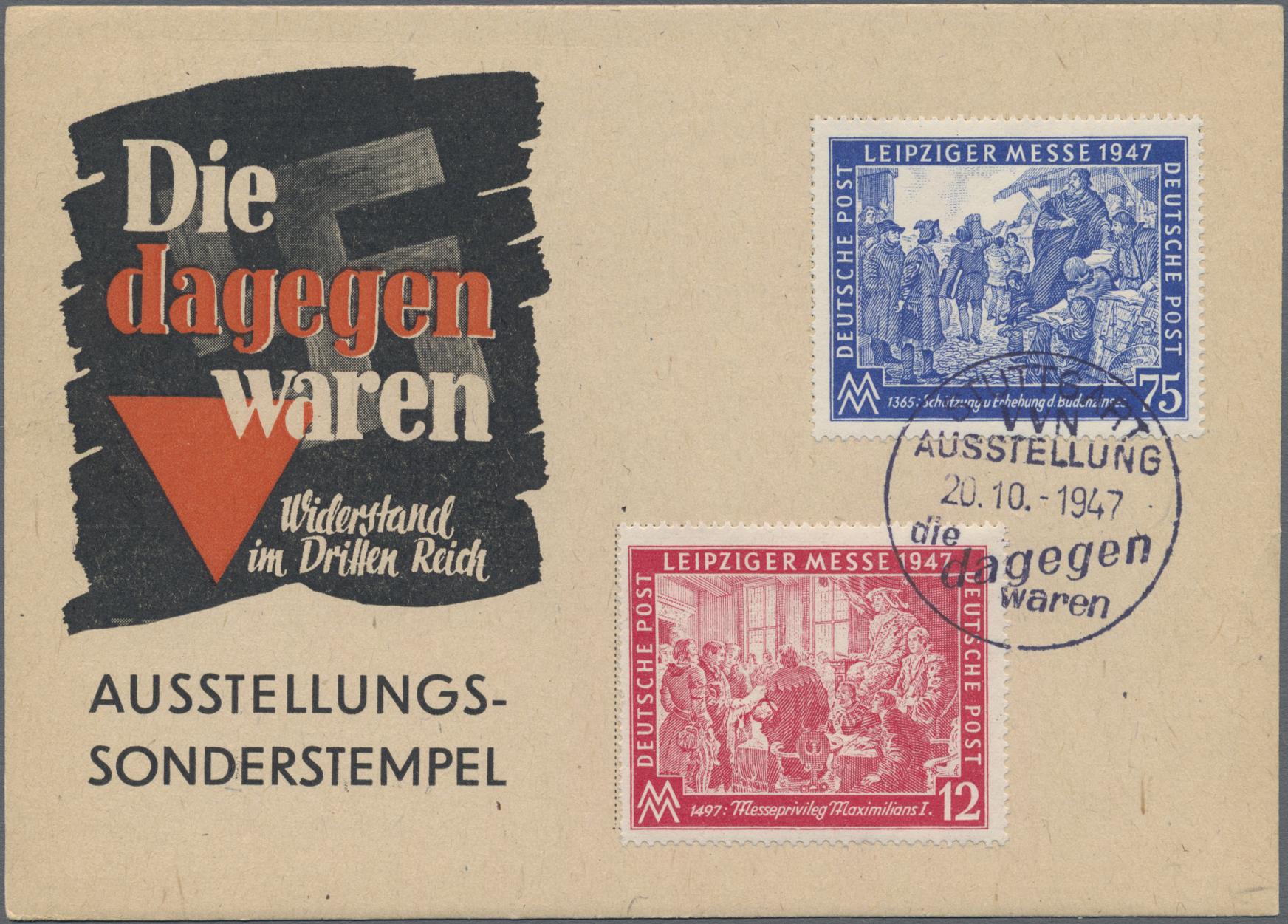 Lot 03503 - ansichtskarten: politik / politics  -  Auktionshaus Christoph Gärtner GmbH & Co. KG Sale #48 The Coins & The Picture Post Cards