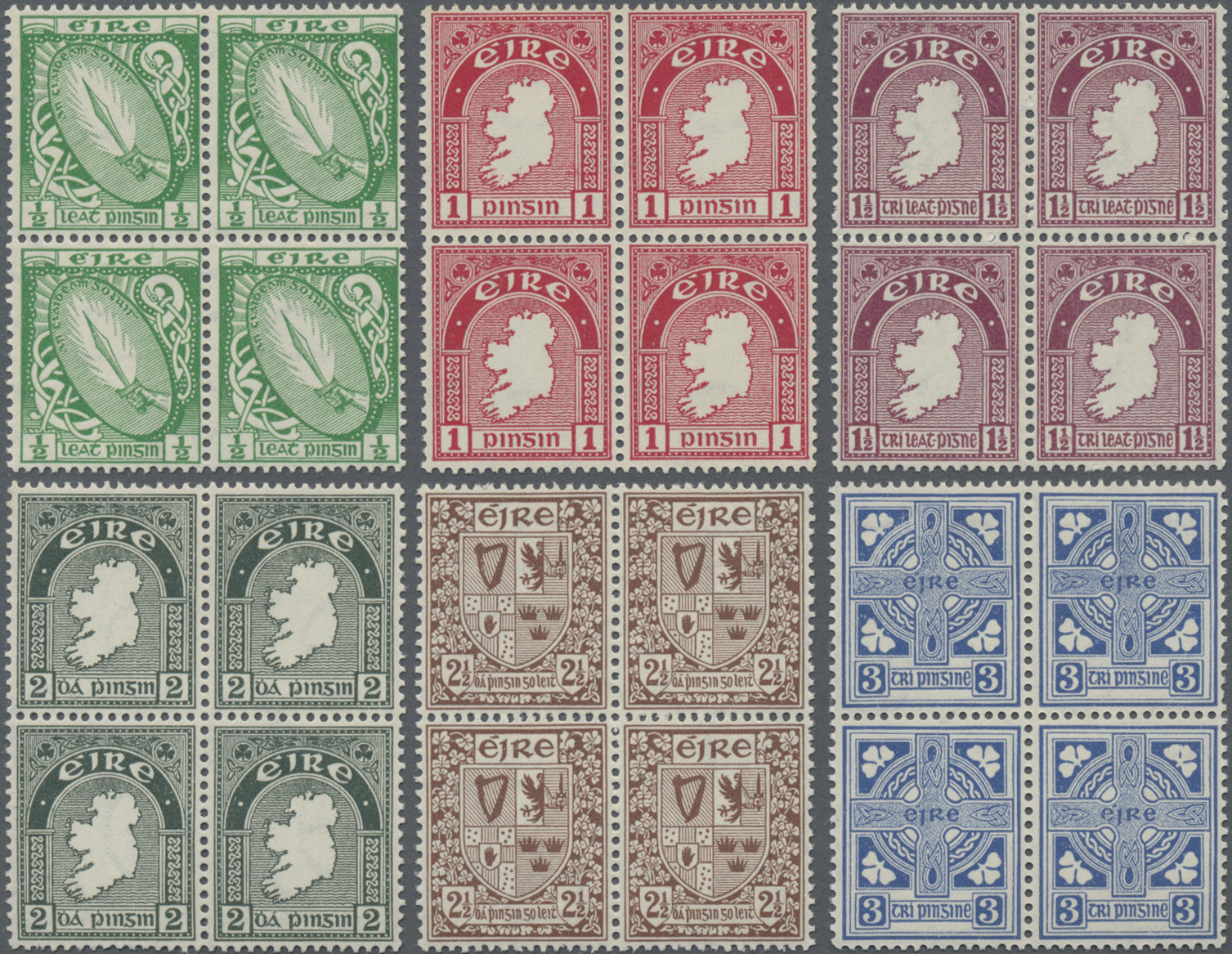 Lot 11665 - irland  -  Auktionshaus Christoph Gärtner GmbH & Co. KG Sale #46 Single lots Asia, Thematics, Overseas, Europe …