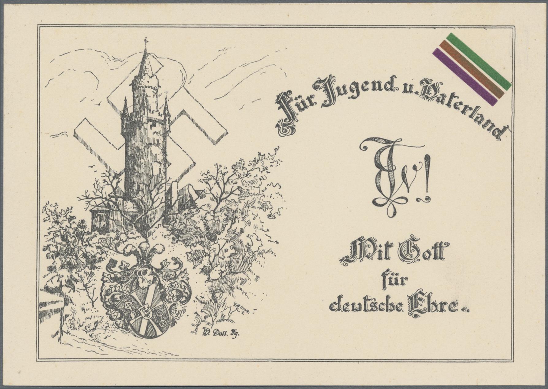 Lot 35298 - Ansichtskarten: Propaganda  -  Auktionshaus Christoph Gärtner GmbH & Co. KG Sale #44 Collections Germany