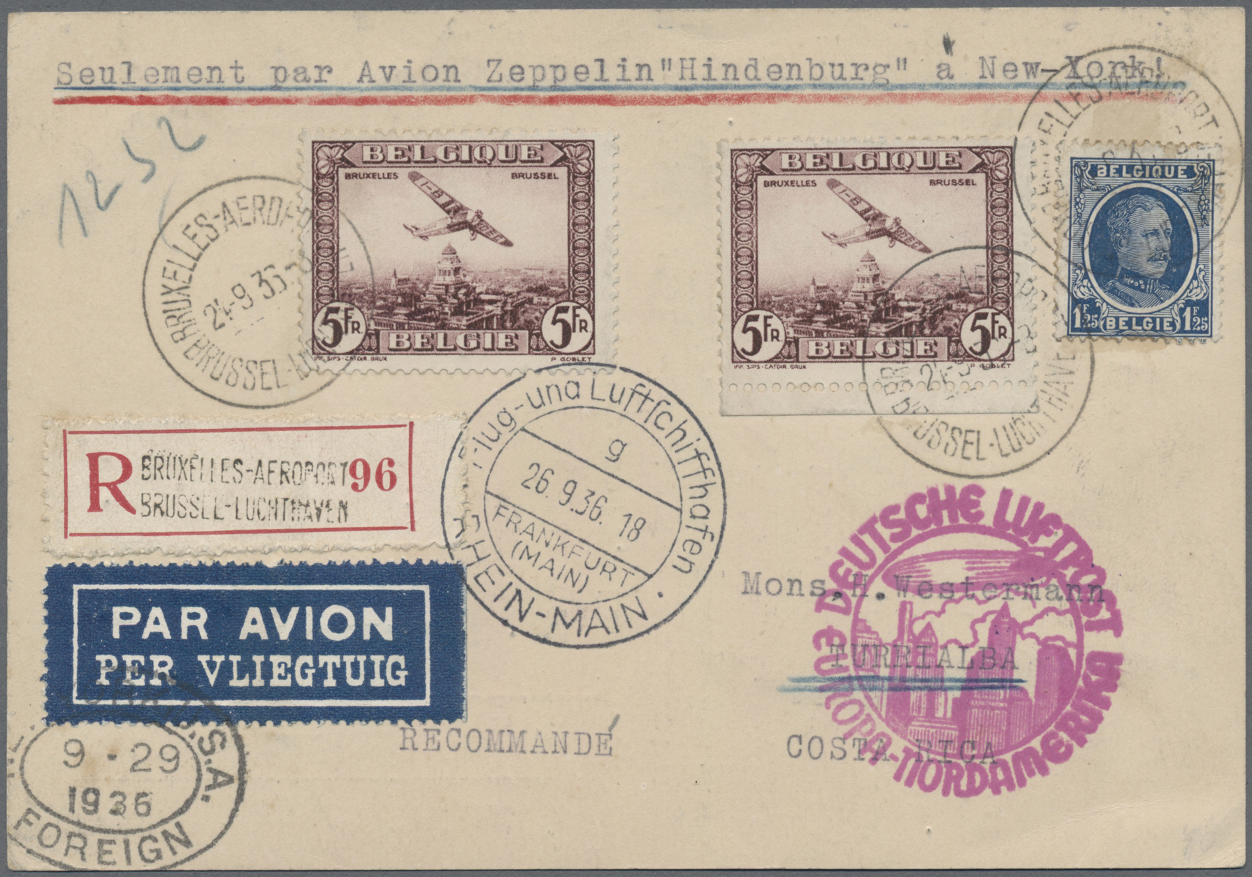 Lot 04803 - zeppelinpost europa  -  Auktionshaus Christoph Gärtner GmbH & Co. KG Special Auction 26.- 28. May 2020