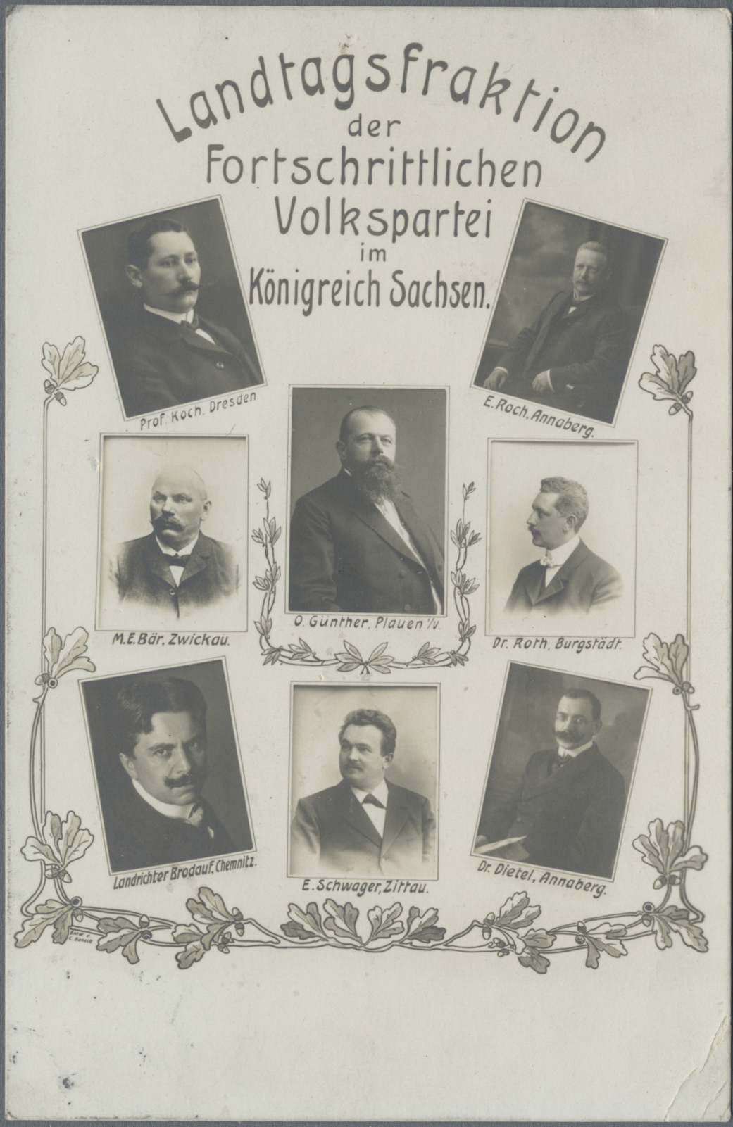 Lot 03505 - ansichtskarten: politik / politics  -  Auktionshaus Christoph Gärtner GmbH & Co. KG Sale #48 The Coins & The Picture Post Cards
